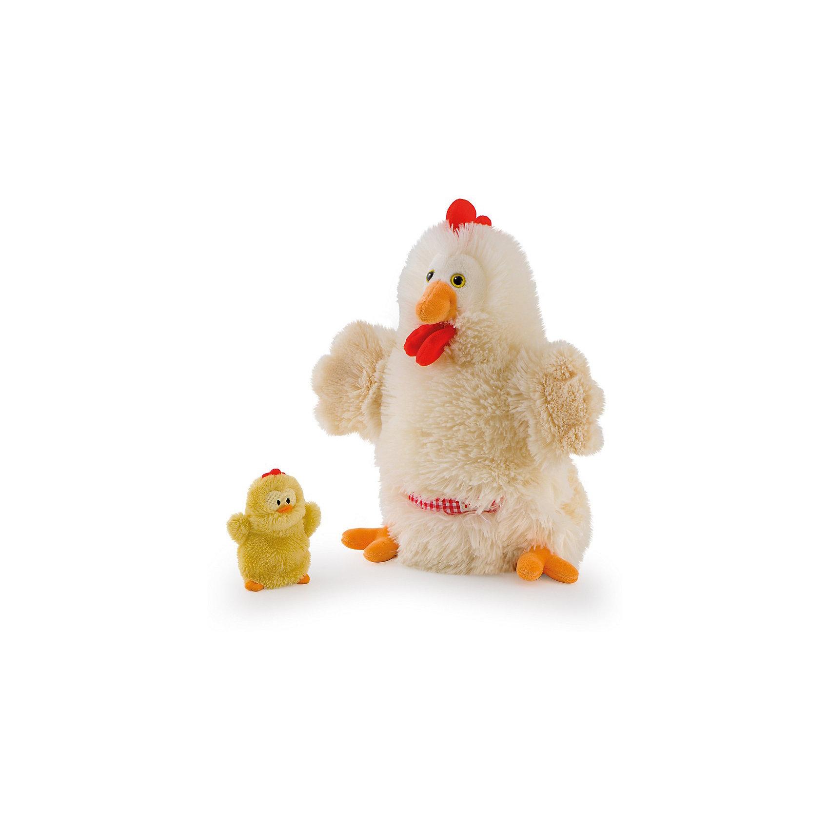 Мягкая игрушка на руку Курочка с цыпленком, 28 см, TrudiМягкие игрушки на руку<br>Очаровательная Курочка и ее не менее очаровательный малыш-цыпленок приведут в восторг любого ребенка. Курочка надевается на руку: вы сможете разыграть с детьми маленький спектакль, а уже подросшие ребята смогут играть с забавными игрушками самостоятельно. Мягкие игрушки Trudi изготовлены только из высококачественных экологичных материалов абсолютно безопасных для детей. Благодаря тщательной проработке всех деталей курочка выглядит очень реалистично, что, несомненно, порадует ребенка. Прекрасный подарок на любой праздник! <br><br>Дополнительная информация:<br><br>- Материал: плюш, пластик, текстиль, искусственный мех. <br>- Высота: 28 см. <br>- Допускается машинная стирка при деликатной режиме (30 ?).<br><br>Мягкую игрушку на руку, Курочку с цыпленком, 28 см, Trudi (Труди), можно купить в нашем магазине.<br><br>Ширина мм: 100<br>Глубина мм: 280<br>Высота мм: 280<br>Вес г: 160<br>Возраст от месяцев: 12<br>Возраст до месяцев: 2147483647<br>Пол: Унисекс<br>Возраст: Детский<br>SKU: 5055259