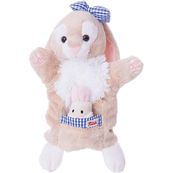 Мягкая игрушка на руку Зайчиха с зайчонком, 28 см, TrudiМягкие игрушки на руку<br>Очаровательная Зайчиха и ее не менее очаровательный малыш-зайчонок приведут в восторг любого ребенка. Зайка надевается на руку: вы сможете разыграть с детьми маленький спектакль, а уже подросшие ребята смогут играть с забавными игрушками самостоятельно. Мягкие игрушки Trudi изготовлены только из высококачественных экологичных материалов абсолютно безопасных для детей. Благодаря тщательной проработке всех деталей Зайчиха выглядит очень реалистично, что, несомненно, порадует ребенка. Прекрасный подарок на любой праздник! <br><br>Дополнительная информация:<br><br>- Материал: плюш, пластик, текстиль, искусственный мех. <br>- Высота: 28 см. <br>- Допускается машинная стирка при деликатной режиме (30 ?).<br><br>Мягкую игрушку на руку, Зайчиху с зайчонком, 28 см, Trudi (Труди), можно купить в нашем магазине.<br>Ширина мм: 80; Глубина мм: 280; Высота мм: 230; Вес г: 160; Возраст от месяцев: 12; Возраст до месяцев: 2147483647; Пол: Унисекс; Возраст: Детский; SKU: 5055261;