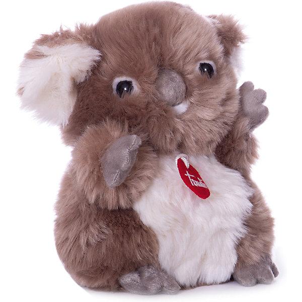 Коала-пушистик, 24 см, TrudiМягкие игрушки животные<br>Коала-пушистик от Trudi очарует и детей и взрослых! Мягкая шерстка коалы очень приятна на ощупь, большой бархатный коричневый носик и озорные глазки приведут в восторг любого ребенка. С этим милым пушистиком будет очень весело играть, придумывая разные истории, и спокойно и уютно засыпать ночью. Игрушка изготовлена из высококачественных нетоксичных гипоаллергенных материалов абсолютно безопасных для самых маленьких детей.<br><br>Дополнительная информация:<br><br>- Материал: пластик, текстиль, искусственный мех. <br>- Высота: 24 см. <br><br>Коалу-пушистика, 24 см, Trudi (Труди), можно купить в нашем магазине.<br>Ширина мм: 140; Глубина мм: 140; Высота мм: 240; Вес г: 120; Возраст от месяцев: 12; Возраст до месяцев: 2147483647; Пол: Унисекс; Возраст: Детский; SKU: 5055262;