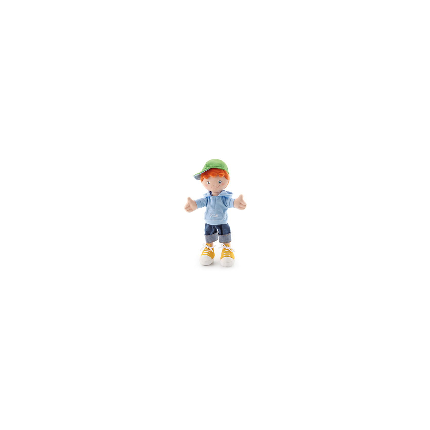 Мальчик в кепке, 30 см, TrudiМальчик в кепке, 30 см. от популярного итальянского бренда Trudi (Труди) станет первым другом малыша с самого рождения. Кукла изготовлена из безопасных материалов, не содержит мелких деталей и разработана специально для новорожденных. Приятные цвета и реалистичная одежда, которая снимается придут по вкусу крохе, а красивые голубые глаза убеждают в том, что мальчик будто живой. Детишки постарше смогут играть с куклой в дочки-матери и отрабатывать социальные навыки. Игрушка поможет развить воображение, навыки общения, моторику рук, а также тактильное и цветовое восприятие.   <br>Дополнительная информация:<br><br>- Состав: текстиль<br>- Размер: 24 см. <br><br>Мальчика в кепке, 30 см, Trudi (Труди) можно купить в нашем интернет-магазине.<br>Подробнее:<br>• Для детей в возрасте: от 0 месяцев <br>• Номер товара: 5055275<br>Страна производитель: Китай<br><br>Ширина мм: 135<br>Глубина мм: 90<br>Высота мм: 300<br>Вес г: 200<br>Возраст от месяцев: -2147483648<br>Возраст до месяцев: 2147483647<br>Пол: Женский<br>Возраст: Детский<br>SKU: 5055275