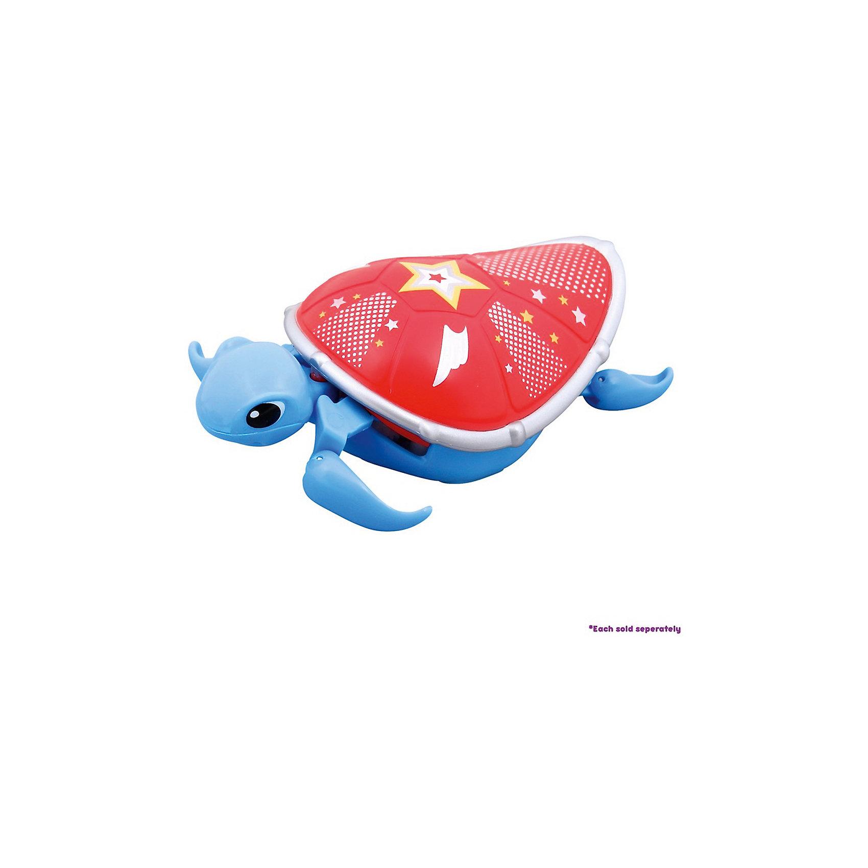 Интерактивная черепашка, голубая с красным панцирем, 3-я серия, Little Live PetsИнтерактивная черепашка, голубая с красным панцирем, 3-я серия, Little Live Pets<br>– разнообразит купание вашего малыша. <br>Черепашка не только замечательно ползает на суше, но и отлично плавает в воде. Черепашка очень похожа на настоящую. Материал безопасен для детей, не выделяет вредных веществ в воду. Она шевелит ластами и головой. Кнопка включения находится на брюшке. Не рекомендуется играть в морской воде и на песке.<br><br>Дополнительная информация:<br><br>- возраст: от 5 лет<br>- материал: пластик<br>- на батарейке ААА(LR03)  <br>- цвет: голубой с красным панцирем<br><br>Интерактивную черепашку, голубая с красным панцирем, 3-я серия, Little Live Pets<br> можно купить в нашем интернет-магазине.<br><br>Ширина мм: 50<br>Глубина мм: 160<br>Высота мм: 220<br>Вес г: 200<br>Возраст от месяцев: 60<br>Возраст до месяцев: 120<br>Пол: Унисекс<br>Возраст: Детский<br>SKU: 5055303