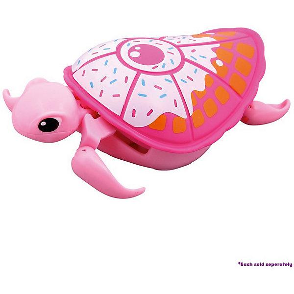 Интерактивная черепашка, розовая с белым панцирем, 3-я серия, Little Live PetsИнтерактивные животные<br>Интерактивная черепашка, розовая с белым панцирем, 3-я серия, Little Live Pets – разнообразит купание вашего малыша. <br>Черепашка не только замечательно ползает на суше, но и отлично плавает в воде. Черепашка очень похожа на настоящую. Материал безопасен для детей, не выделяет вредных веществ в воду. Она шевелит ластами и головой. Кнопка включения находится на брюшке. Не рекомендуется играть в морской воде и на песке.<br><br>Дополнительная информация:<br><br>- возраст: от 5 лет<br>- материал: пластик<br>- на батарейке ААА(LR03)  <br>- цвет: розовый<br><br>Интерактивная черепашка, розовая с белым панцирем, 3-я серия, Little Live Pets можно купить в нашем интернет-магазине.<br><br>Ширина мм: 50<br>Глубина мм: 160<br>Высота мм: 220<br>Вес г: 200<br>Возраст от месяцев: 60<br>Возраст до месяцев: 120<br>Пол: Унисекс<br>Возраст: Детский<br>SKU: 5055305