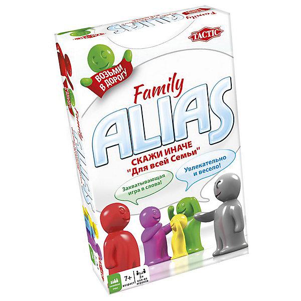 Игра Скажи Иначе, компактная версия, Tactic GamesТоп игр<br>Игра Скажи Иначе, компактная версия, Tactic Games – настольная игра для всей семьи.<br>100 двусторонних карточек со словами, которые предстоит угадывать. Все слова угадываются с помощью словестных оборотов, но нельзя использовать однокоренные слова. Такая веселая игра для всех членов семьи сможет развить воображение, сообразительность, быстроту реакции и смекалку.<br><br>Дополнительная информация:<br><br>- возраст: от 7 лет<br>- количество игроков: 3-8<br><br>Игру Скажи Иначе, компактная версия, Tactic Games можно купить в нашем интернет-магазине.<br><br>Ширина мм: 180<br>Глубина мм: 110<br>Высота мм: 36<br>Вес г: 260<br>Возраст от месяцев: 84<br>Возраст до месяцев: 2147483647<br>Пол: Унисекс<br>Возраст: Детский<br>SKU: 5055328