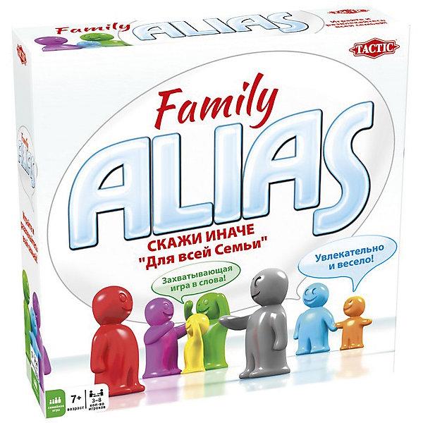 Игра Скажи иначе, Tactic GamesНастольные игры для всей семьи<br>Игра Скажи иначе, Tactic Games – настольная игра для всей семьи.<br>280 двусторонних карточек со словами, которые предстоит угадывать и 20 карточек с заданиями. Все слова угадываются с помощью словестных оборотов, но нельзя использовать однокоренные слова. Такая веселая игра для всех членов семьи сможет развить воображение, сообразительность, быстроту реакции и смекалку.<br><br>Дополнительная информация:<br><br>- возраст: от 7 лет<br>- количество игроков: 3-8<br><br>Игру Скажи иначе, Tactic Games можно купить в нашем интернет-магазине.<br><br>Ширина мм: 250<br>Глубина мм: 62<br>Высота мм: 250<br>Вес г: 1010<br>Возраст от месяцев: 84<br>Возраст до месяцев: 2147483647<br>Пол: Унисекс<br>Возраст: Детский<br>SKU: 5055329