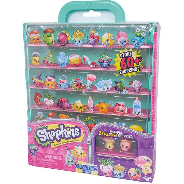Кейс для хранения фигурок, ShopkinsКоллекционные фигурки<br>Играть с любимыми мультяшными персонажами всегда веселее! Шопкинс - это любимые герои многих современных детей. Фигурки в виде героев из одноименного мультфильма обязательно порадуют ребенка. Также в набор входит специальный кейс для их хранения.<br>Такие игрушки способствуют развитию мелкой моторики, мышления и социальных навыков. Сделаны из материалов, безопасных для детей.<br><br>Дополнительная информация:<br><br>комплектация: две фигурки Shopkins, наклейки, кейс;<br>рекомендуемый возраст: от пяти лет;<br>размер: 30 х 23 см;<br>материал: полимер.<br><br>Кейс для хранения фигурок от бренда Shopkins (Шопкинс) можно купить в нашем интернет-магазине.<br><br>Ширина мм: 236<br>Глубина мм: 315<br>Высота мм: 318<br>Вес г: 640<br>Возраст от месяцев: 60<br>Возраст до месяцев: 120<br>Пол: Женский<br>Возраст: Детский<br>SKU: 5055356