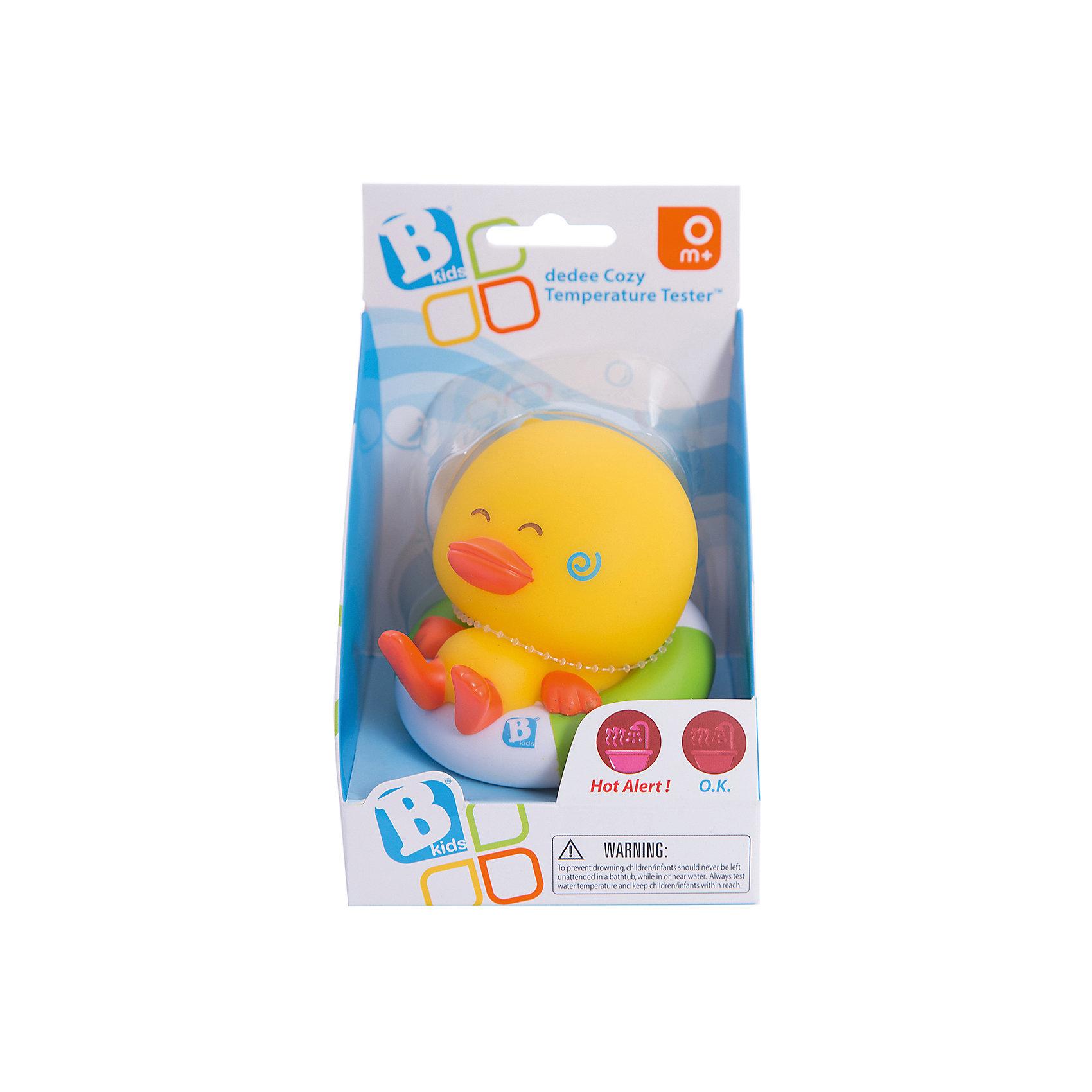 Игрушка для купания Уточка с идентификатором температуры, BKidsТермометры<br>Весело проводить время в ванне с комфортной температурой поможет ребенку эта уточка со встроенным термометром. Она поможет определить, когда вода слишком горяча, а когда - оптимальна для малыша.<br>Такие игрушки способствуют развитию мелкой моторики, воображения и тактильных ощущений. Изделие разработано специально для самых маленьких. Сделано из материалов, безопасных для детей.<br><br>Дополнительная информация:<br><br>цвет: разноцветный;<br>возраст: с рождения.<br><br>Игрушку для купания Уточка с идентификатором температуры от бренда BKids можно купить в нашем интернет-магазине.<br><br>Ширина мм: 98<br>Глубина мм: 98<br>Высота мм: 149<br>Вес г: 113<br>Возраст от месяцев: 0<br>Возраст до месяцев: 36<br>Пол: Унисекс<br>Возраст: Детский<br>SKU: 5055359