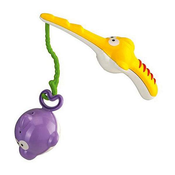 Игровой набор для купания Рыбалка, BKidsИгрушки для ванной<br>Характеристики:<br><br>• набор для купания;<br>• тема набора: рыбалка;<br>• в комплекте: удочка и рыбка;<br>• рыбку можно наполнить водой;<br>• игра развивает координацию движений и ловкость рук;<br>• материал: пластик;<br>• размер упаковки: 15х4,5х20 см.<br> <br>Купаясь в ванной, малыш одновременно сможет и порыбачить. Игровой набор для купания «Рыбалка» предлагает ребенку удочку, на леске которой находится крючок. Рыбка беззаботно плавает, когда малыш пытается надеть ее на крючок. Игра развивает координацию и пространственное восприятие. <br><br>Игровой набор для купания Рыбалка, BKids можно купить в нашем интернет-магазине.<br>Ширина мм: 50; Глубина мм: 50; Высота мм: 203; Вес г: 106; Возраст от месяцев: 12; Возраст до месяцев: 36; Пол: Унисекс; Возраст: Детский; SKU: 5055360;