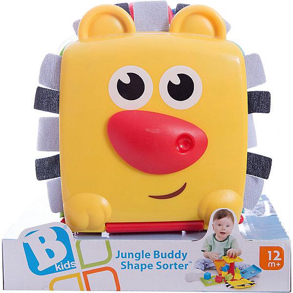 Сортер, BKidsРазвивающие игрушки<br>Развивать способности ребенка можно с самого раннего возраста. Делая это в игре, малыш всесторонне изучает мир и осваивает новые навыки. Эта игрушка представляет собой сортер с сюрпризом.<br>Такие игрушки способствуют развитию мелкой моторики, воображения, цвето- и звуковосприятия, тактильных ощущений и обучению. Изделие разработано специально для самых маленьких. Сделано из материалов, безопасных для детей.<br><br>Дополнительная информация:<br><br>цвет: разноцветный;<br>комплектация: сортер, 8 фигур;<br>размер: 14 х 14 х14 см;<br>возраст: от года.<br><br>Сортер от бренда BKids можно купить в нашем интернет-магазине.<br><br>Ширина мм: 165<br>Глубина мм: 165<br>Высота мм: 38<br>Вес г: 501<br>Возраст от месяцев: 12<br>Возраст до месяцев: 36<br>Пол: Унисекс<br>Возраст: Детский<br>SKU: 5055366