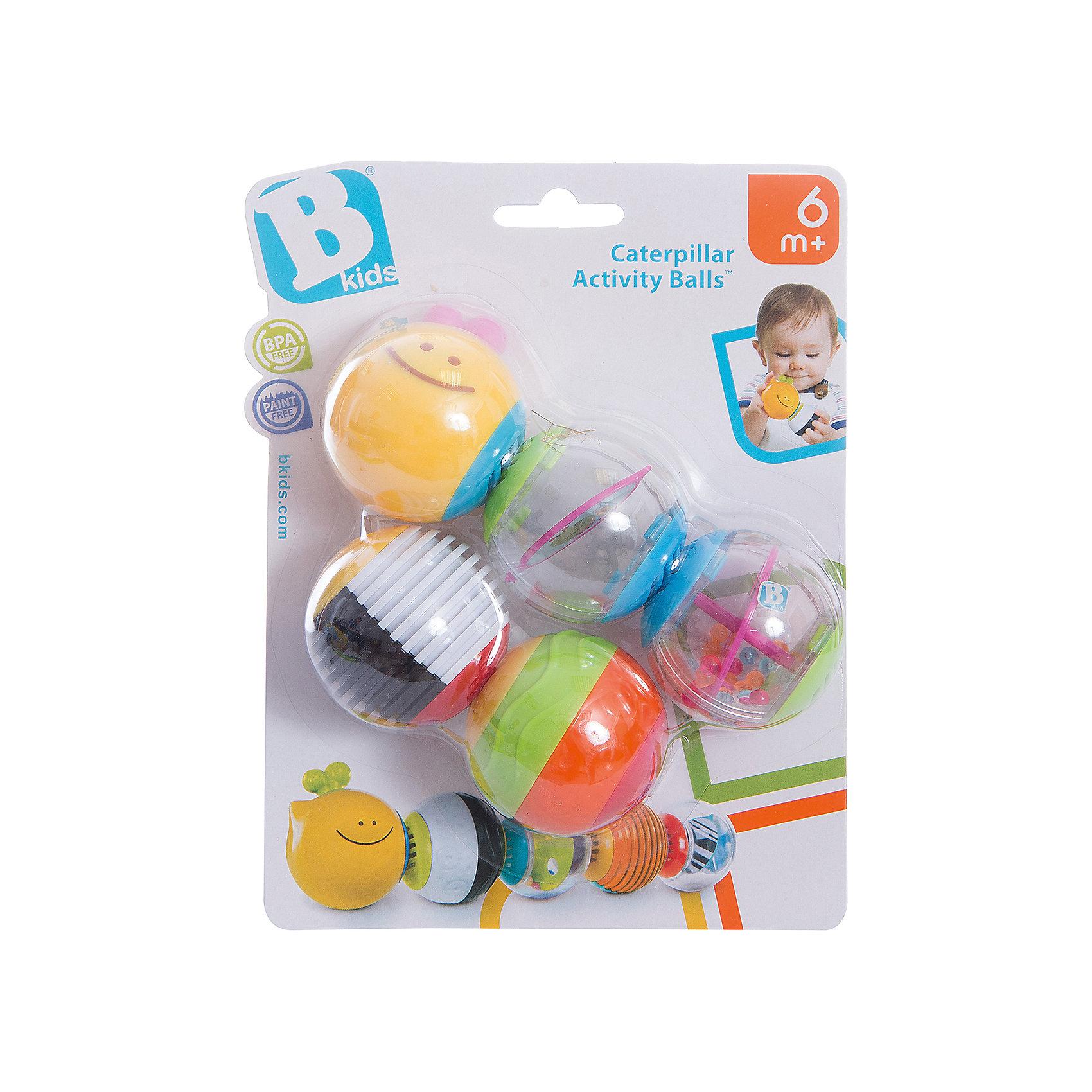 Игрушка - пазл Веселая гусеничка, BKidsРазвивающие игрушки<br>Помогать развивать способности ребенка можно с самого раннего возраста. Делая это в игре, малыш всесторонне изучает мир и осваивает новые навыки. Эта игрушка представляет симпатичный пазл-погремушку из магнитных шаров с разной текстурой.<br>Такие игрушки способствуют развитию мелкой моторики, воображения, цвето- и звуковосприятия, тактильных ощущений и обучению. Изделие разработано специально для самых маленьких. Сделано из материалов, безопасных для детей.<br><br>Дополнительная информация:<br><br>цвет: разноцветный;<br>комплектация: 5 шаров;<br>размер упаковки: 20 х 15 х 6 см;<br>возраст: с 6 мес.<br><br>Игрушку - пазл Веселая гусеничка от бренда BKids можно купить в нашем интернет-магазине.<br><br>Ширина мм: 152<br>Глубина мм: 152<br>Высота мм: 55<br>Вес г: 146<br>Возраст от месяцев: 6<br>Возраст до месяцев: 36<br>Пол: Унисекс<br>Возраст: Детский<br>SKU: 5055370
