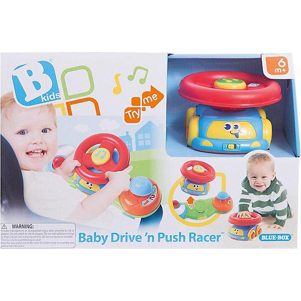 Музыкальная игрушка 2 в 1 Маленький водитель, BKidsИнтерактивные игрушки для малышей<br>Характеристики:<br><br>• музыкальная игрушка 2в1;<br>• игровая панель на коляску и машинка со съемным рулем;<br>• звуковое сопровождение;<br>• тип батареек: 2хLR44;<br>• батарейки входят в комплект;<br>• материал: пластик;<br>• размер упаковки: 30х12х20 см.<br><br>Развивающая игрушка позволяет насыщать мир ребенка мелодичными звуками, развивать мелкую моторику и слуховое восприятие, познавать мир в движении. Подвижные элементы, вращающиеся диски, машинка на ходу и музыкальный руль – ребенок переключает свое внимание на каждый из игровых элементов, меняет сферу деятельности  и развивается, играя. <br> <br>Музыкальная игрушка 2 в 1 Маленький водитель, BKids можно купить в нашем интернет-магазине.<br>Ширина мм: 114; Глубина мм: 114; Высота мм: 203; Вес г: 458; Возраст от месяцев: 6; Возраст до месяцев: 36; Пол: Унисекс; Возраст: Детский; SKU: 5055374;