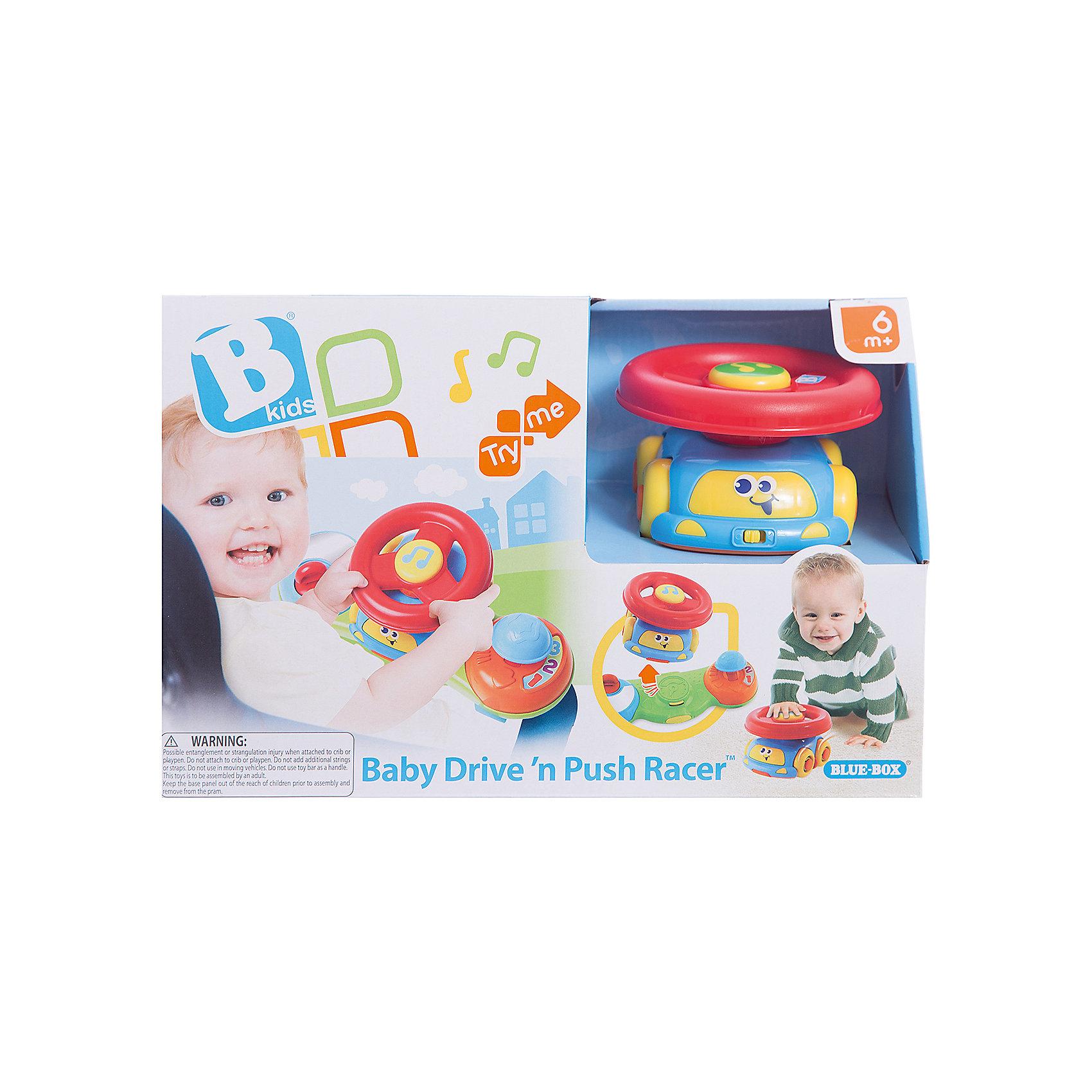 Музыкальная игрушка 2 в 1 Маленький водитель, BKidsИнтерактивные игрушки для малышей<br>Развивать способности ребенка можно с самого раннего возраста. Делая это в игре, малыш всесторонне изучает мир и осваивает новые навыки. Эта игрушка представляет собой одновременно музыкальную игровую панель на коляску и симпатичную машинку со съемным рулем на крыше.<br>Такие игрушки способствуют развитию мелкой моторики, воображения, цвето- и звуковосприятия, тактильных ощущений и обучению. Изделие разработано специально для самых маленьких. Сделано из материалов, безопасных для детей.<br><br>Дополнительная информация:<br><br>цвет: разноцветный;<br>размер упаковки: 30 х 12 х 20 см;<br>батарейки: 2хLR44, входят в комплект;<br>возраст: от полугода.<br><br>Музыкальную игрушку 2 в 1 Маленький водитель от бренда BKids можно купить в нашем интернет-магазине.<br><br>Ширина мм: 114<br>Глубина мм: 114<br>Высота мм: 203<br>Вес г: 458<br>Возраст от месяцев: 6<br>Возраст до месяцев: 36<br>Пол: Унисекс<br>Возраст: Детский<br>SKU: 5055374