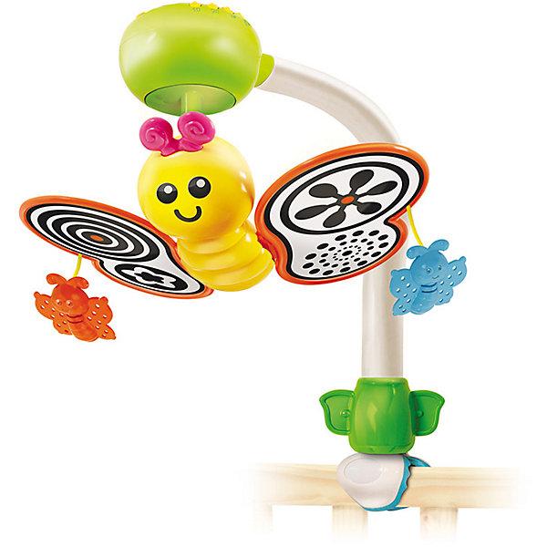 Мобиль на кроватку, BKidsИгрушки для новорожденных<br>Развивать способности ребенка можно с самого раннего возраста. Делая это в игре, малыш всесторонне изучает мир и осваивает новые навыки. Эта игрушка представляет собой музыкальный мобиль - он играет мелодии, громкость можно регулировать.<br>Такие игрушки способствуют развитию мелкой моторики, воображения, цвето- и звуковосприятия, тактильных ощущений и обучению. Изделие разработано специально для самых маленьких. Сделано из материалов, безопасных для детей.<br><br>Дополнительная информация:<br><br>цвет: разноцветный;<br>размер: 22 х 30 см;<br>возраст: с рождения.<br><br>Мобиль на кроватку от бренда BKids можно купить в нашем интернет-магазине.<br><br>Ширина мм: 380<br>Глубина мм: 312<br>Высота мм: 106<br>Вес г: 719<br>Возраст от месяцев: 0<br>Возраст до месяцев: 6<br>Пол: Унисекс<br>Возраст: Детский<br>SKU: 5055378