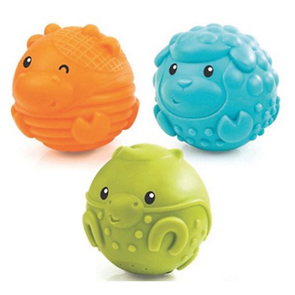 Игровые фигурки - шарики Sensory, BKidsИгрушки для ванной<br>Развивать способности ребенка можно с самого раннего возраста. Делая это в игре, малыш всесторонне изучает мир и осваивает новые навыки. Эта игрушка представляет собой шарик Sensory, выполненный в виде зверюшки, он издаёт звук.<br>Такие игрушки способствуют развитию мелкой моторики, воображения, цвето- и звуковосприятия, тактильных ощущений и обучению. Изделие разработано специально для самых маленьких. Сделано из материалов, безопасных для детей.<br><br>Дополнительная информация:<br><br>цвет: разноцветный;<br>каждый шарик продается отдельно;<br>возраст: с полугода.<br><br>Игровые фигурки - шарики Sensory от бренда BKids можно купить в нашем интернет-магазине.<br>Ширина мм: 266; Глубина мм: 266; Высота мм: 82; Вес г: 66; Возраст от месяцев: 6; Возраст до месяцев: 36; Пол: Унисекс; Возраст: Детский; SKU: 5055383;