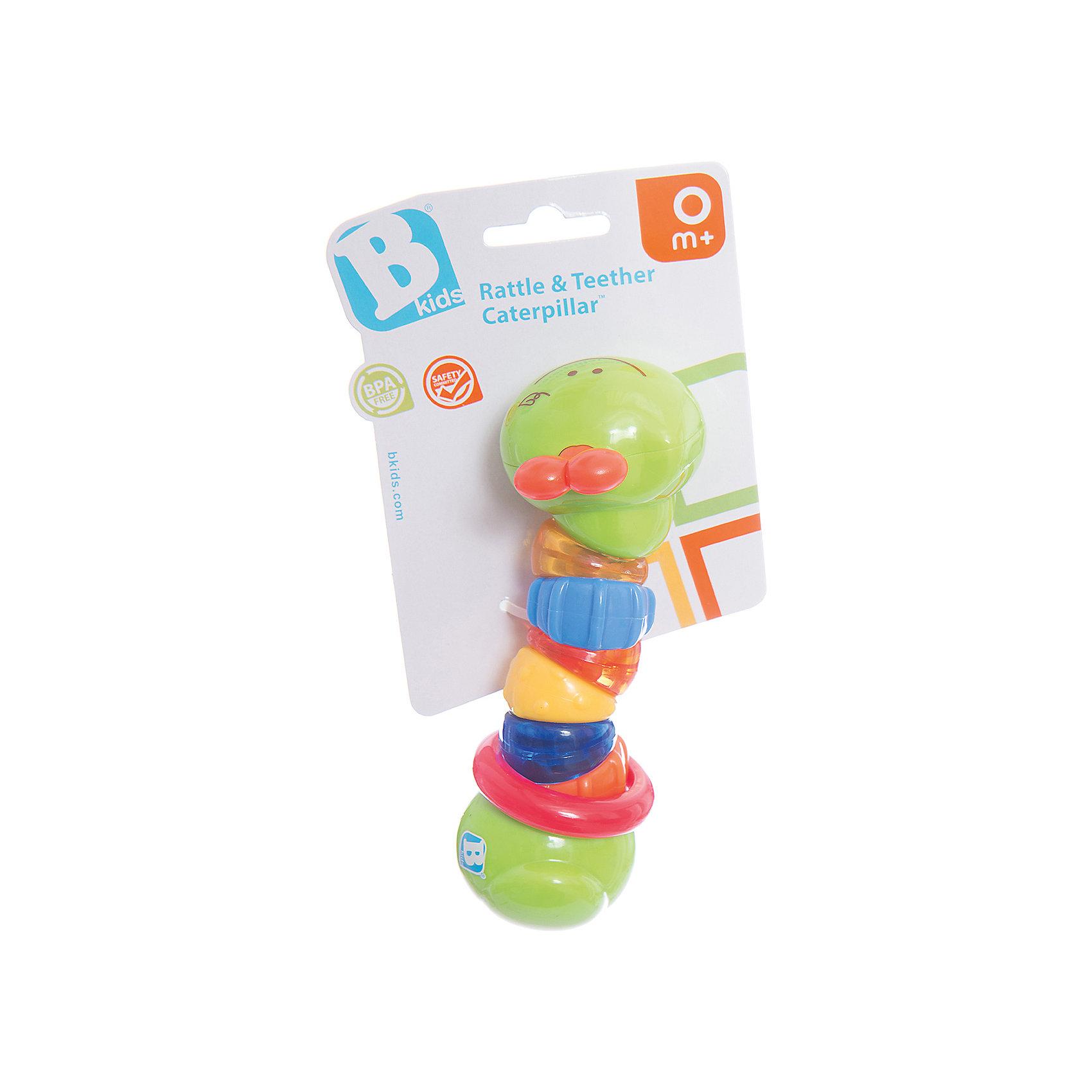 Игрушка Гусеничка, BKidsРазвивающие игрушки<br>Развивать способности ребенка можно с самого раннего возраста. Делая это в игре, малыш всесторонне изучает мир и осваивает новые навыки. Эта игрушка представляет собой погремушку в виде гусеницы с фактурной поверхностью. <br>Такие игрушки способствуют развитию мелкой моторики, воображения, цвето- и звуковосприятия, тактильных ощущений и обучению. Изделие разработано специально для самых маленьких. Сделано из материалов, безопасных для детей.<br><br>Дополнительная информация:<br><br>цвет: разноцветный;<br>размер: 16,5 см;<br>возраст: с рождения.<br><br>Игрушку Гусеничка от бренда BKids можно купить в нашем интернет-магазине.<br><br>Ширина мм: 101<br>Глубина мм: 101<br>Высота мм: 20<br>Вес г: 93<br>Возраст от месяцев: 0<br>Возраст до месяцев: 36<br>Пол: Унисекс<br>Возраст: Детский<br>SKU: 5055387