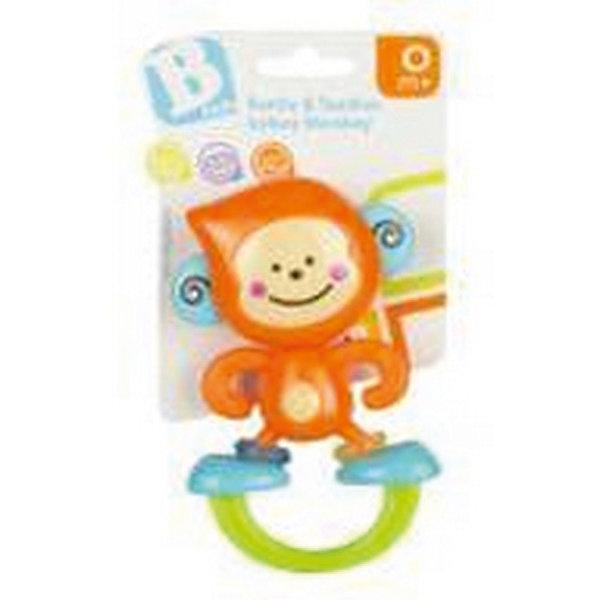Игрушка Веселая обезьянка, BKidsПустышки<br>Прорезыватели необходимы детям, у которых режутся зубки. Они могут выглядеть очень симпатично! Эта игрушка представляет собой прорезыватель в виде обезьяны. На её ножках есть небольшие колечки голубого и зеленого цвета. Их можно крутить и передвигать. <br>Такие игрушки способствуют развитию мелкой моторики, воображения, цветовосприятия, тактильных ощущений. Изделие разработано специально для самых маленьких. Сделано из материалов, безопасных для детей.<br><br>Дополнительная информация:<br><br>цвет: разноцветный;<br>размеры игрушки: 15 х 20 х 4 см;<br>возраст: с рождения.<br><br>Игрушку Веселая обезьянка от бренда BKids можно купить в нашем интернет-магазине.<br><br>Ширина мм: 101<br>Глубина мм: 101<br>Высота мм: 20<br>Вес г: 71<br>Возраст от месяцев: 0<br>Возраст до месяцев: 36<br>Пол: Унисекс<br>Возраст: Детский<br>SKU: 5055392