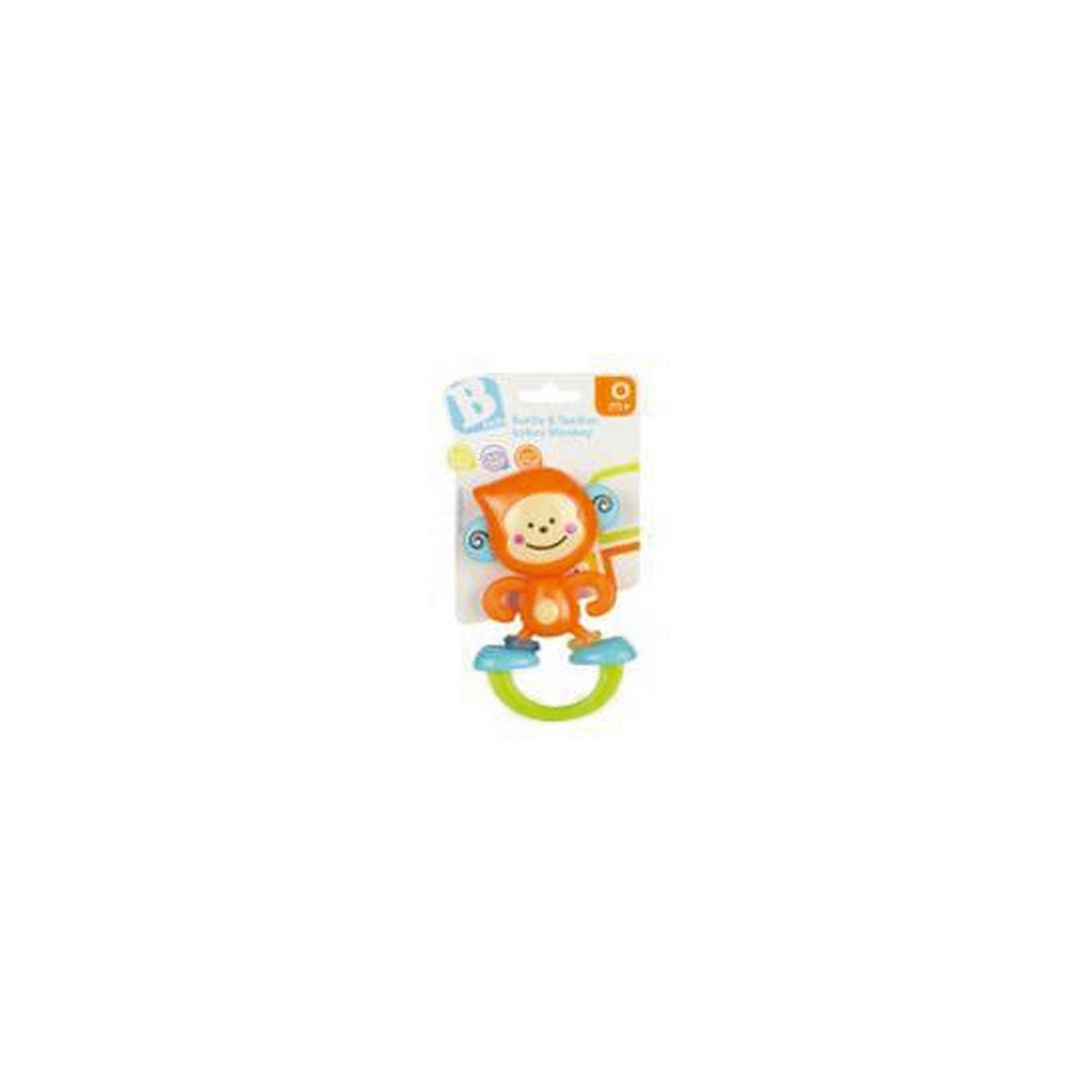 Игрушка Веселая обезьянка, BKidsИгрушки для малышей<br>Прорезыватели необходимы детям, у которых режутся зубки. Они могут выглядеть очень симпатично! Эта игрушка представляет собой прорезыватель в виде обезьяны. На её ножках есть небольшие колечки голубого и зеленого цвета. Их можно крутить и передвигать. <br>Такие игрушки способствуют развитию мелкой моторики, воображения, цветовосприятия, тактильных ощущений. Изделие разработано специально для самых маленьких. Сделано из материалов, безопасных для детей.<br><br>Дополнительная информация:<br><br>цвет: разноцветный;<br>размеры игрушки: 15 х 20 х 4 см;<br>возраст: с рождения.<br><br>Игрушку Веселая обезьянка от бренда BKids можно купить в нашем интернет-магазине.<br><br>Ширина мм: 101<br>Глубина мм: 101<br>Высота мм: 20<br>Вес г: 71<br>Возраст от месяцев: 0<br>Возраст до месяцев: 36<br>Пол: Унисекс<br>Возраст: Детский<br>SKU: 5055392