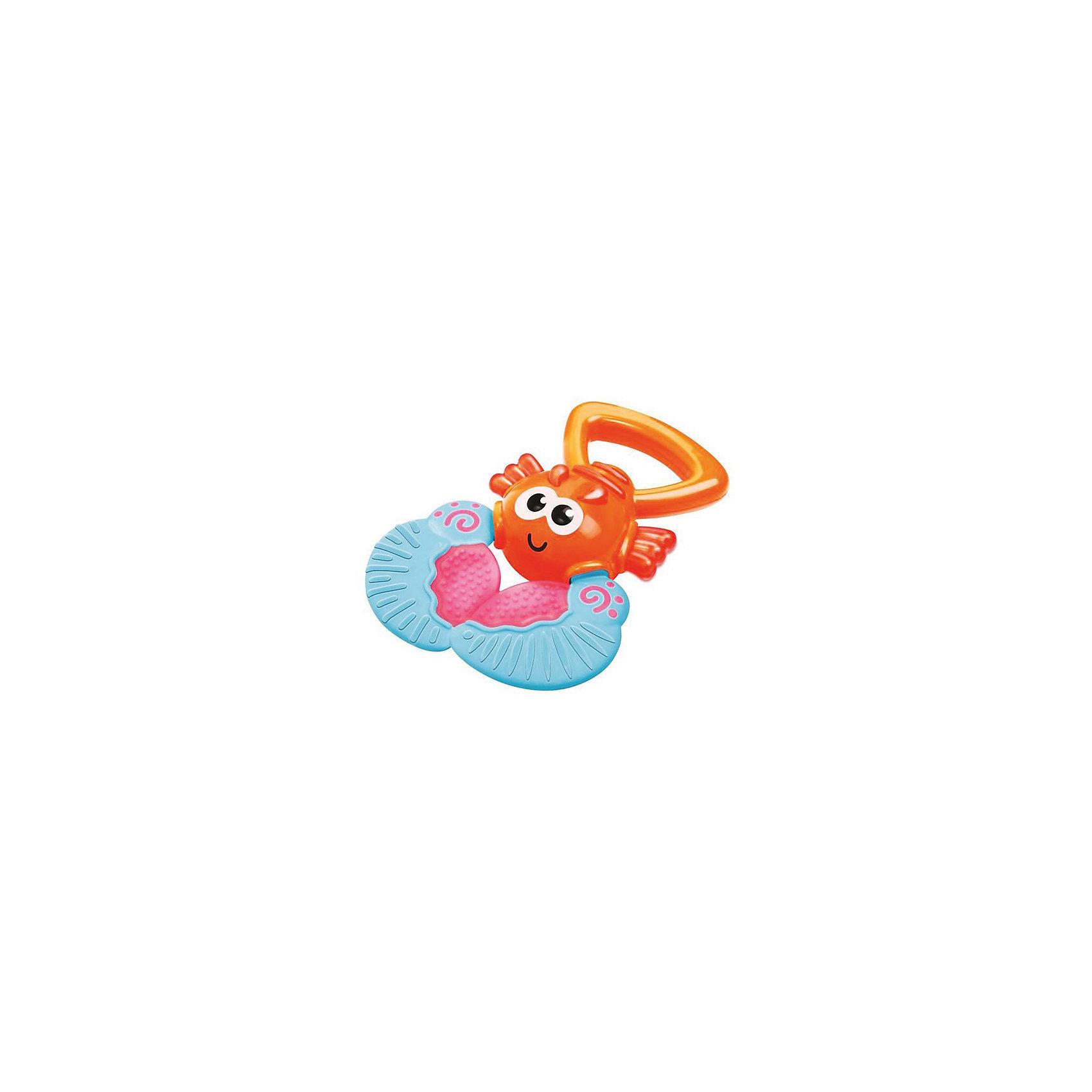 Игрушка Веселый лобстер, BKidsПрорезыватели<br>Прорезыватели необходимы детям, у которых режутся зубки. Они могут выглядеть очень симпатично! Эта игрушка представляет собой прорезыватель в виде лобстера, с удобной ручкой для захвата и массажером десен.<br>Такие игрушки способствуют развитию мелкой моторики, воображения, цветовосприятия, тактильных ощущений. Изделие разработано специально для самых маленьких. Сделано из материалов, безопасных для детей.<br><br>Дополнительная информация:<br><br>цвет: разноцветный;<br>размеры игрушки: 10 х 13 х 3 см;<br>возраст: с рождения.<br><br>Игрушку Веселый лобстер от бренда BKids можно купить в нашем интернет-магазине.<br><br>Ширина мм: 101<br>Глубина мм: 101<br>Высота мм: 20<br>Вес г: 72<br>Возраст от месяцев: 0<br>Возраст до месяцев: 36<br>Пол: Унисекс<br>Возраст: Детский<br>SKU: 5055396