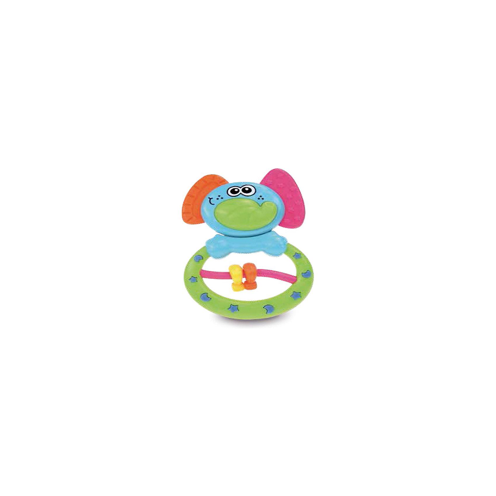 Игрушка Слоник, BKidsПрорезыватели<br>Прорезыватели необходимы детям, у которых режутся зубки. Они могут выглядеть очень симпатично! Эта игрушка представляет собой прорезыватель в виде слоненка, голова игрушки качается, а в животе слоненка есть подвижные колечки..<br>Такие игрушки способствуют развитию мелкой моторики, воображения, цветовосприятия, тактильных ощущений. Изделие разработано специально для самых маленьких. Сделано из материалов, безопасных для детей.<br><br>Дополнительная информация:<br><br>цвет: разноцветный;<br>размеры упаковки: 10 х 15 см;<br>возраст: с рождения.<br><br>Игрушку Слоник от бренда BKids можно купить в нашем интернет-магазине.<br><br>Ширина мм: 152<br>Глубина мм: 152<br>Высота мм: 20<br>Вес г: 73<br>Возраст от месяцев: 0<br>Возраст до месяцев: 36<br>Пол: Унисекс<br>Возраст: Детский<br>SKU: 5055398