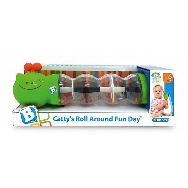 Игрушка Гусеничка с шариками, BKidsИгрушки для новорожденных<br>Характеристики:<br><br>• развивающая игрушка для детей от 6 месяцев;<br>• озорная гусеничка с туловищем, которое состоит из прозрачных пластиковых контейнеров;<br>• внутри контейнеров находятся цветные детали;<br>• детали перекатываются и создают мелодичный перезвон;<br>• материал: пластик;<br>• размер упаковки: 25х9х9 см.<br><br>Игрушка «Гусеничка с шариками» развивает слуховое и зрительное восприятие ребенка, позволяет ему наблюдать за перемещением шариков внутри контейнеров. Тельце гусенички состоит из нескольких элементов, надежно соединенных межу собой. <br> <br>Игрушка Гусеничка с шариками, BKids мжно купить в нашем интернет-магазине.<br>Ширина мм: 88; Глубина мм: 88; Высота мм: 88; Вес г: 240; Возраст от месяцев: 3; Возраст до месяцев: 36; Пол: Унисекс; Возраст: Детский; SKU: 5055399;