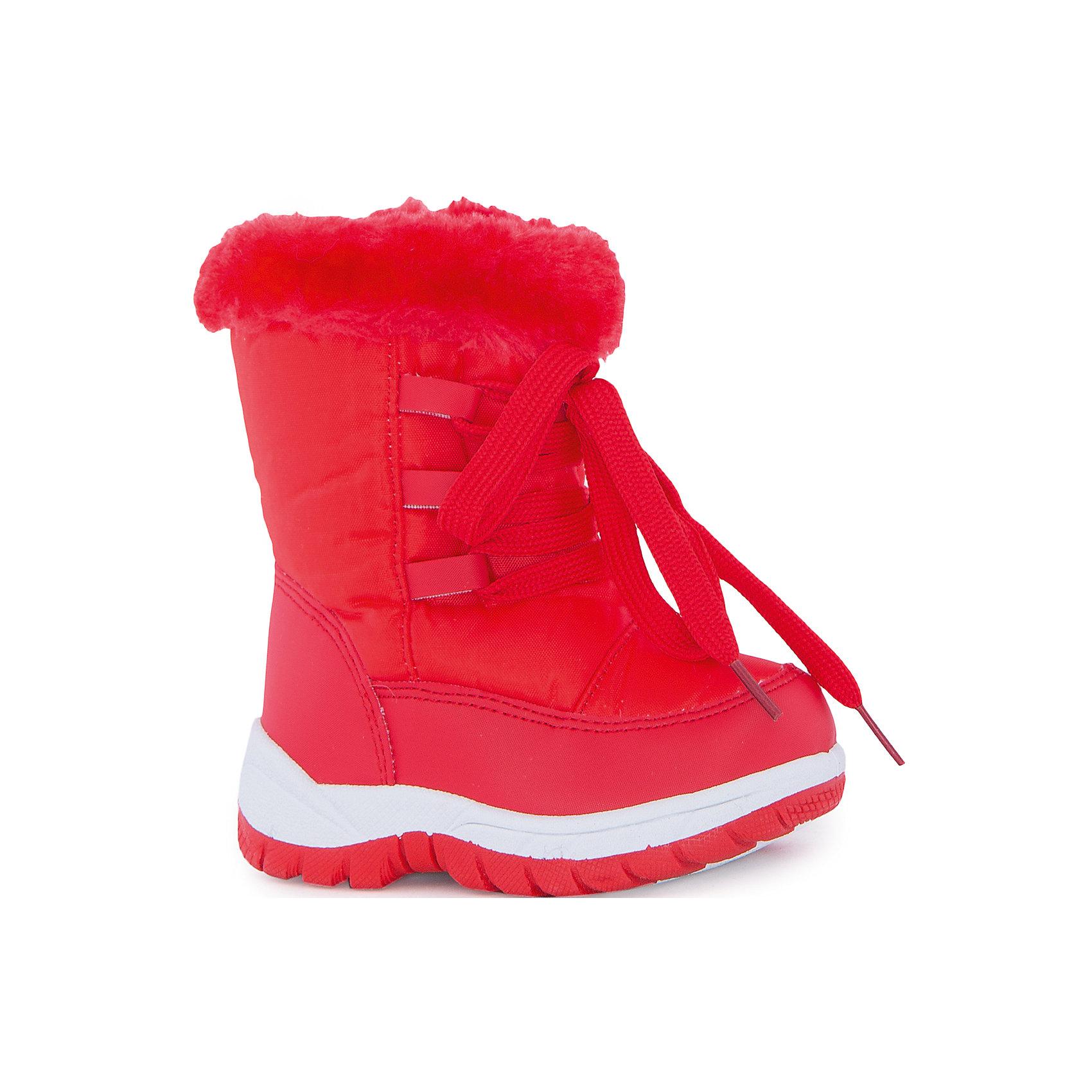 Сапоги для девочки MURSUСапоги для девочки MURSU(Мурсу).<br><br>Характеристики:<br><br>• цвет: красный<br>• температурный режим до -20С<br>• внутренний материал: мех, шерсть<br>• внешний материал: искусственная кожа, текстиль<br>• стелька: мех, шерсть<br>• подошва: ПВХ<br>• застежка-молния сбоку<br>• сезон: зима<br><br>Яркие сапоги от популярного бренда MURSU выполнены из прочных и качественных материалов, отличающихся долговечностью. Плотная ребристая подошва добавит устойчивости, а прочные двойные швы предотвратят быстрое изнашивание. Сапоги застегиваются на молнию сбоку и регулируются по толщине ноги с помощью шнуровки. Мягкая стелька подарит девочке тепло и комфорт. Эти сапожки отлично подойдут для прогулок!<br><br>Сапоги для девочки MURSU(Мурсу) можно купить в нашем интернет-магазине.<br><br>Ширина мм: 257<br>Глубина мм: 180<br>Высота мм: 130<br>Вес г: 420<br>Цвет: красный<br>Возраст от месяцев: 15<br>Возраст до месяцев: 18<br>Пол: Женский<br>Возраст: Детский<br>Размер: 22,27,26,25,24,23<br>SKU: 5055470
