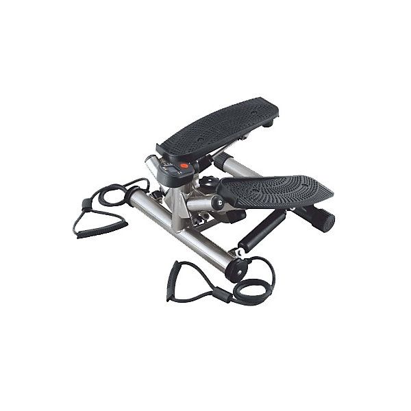 Поворотный министеппер с резин. эсп., Body SculptureТренажёры<br>Поворотный степпер Body Sculpture BS-1370 HAR-B компактный тренажер, предназначенный для использования в домашних условиях. Небольшие размеры и отличная функциональность позволяют использовать этот тренажер для тренировки всех основных групп мышц: ног, бедер, пресса, рук, спины. Наличие эспандеров позволяет проводить достаточно серьезные тренировки,  а встроенный компьютер считывает и сообщает пользователю все основные параметры тренировки, что позволяет планировать тренировки и при необходимости вносить коррективы.<br>Тренировки с использованием поворотного степпера Body Sculpture BS-1370 HAR-B не только очень продуктивны, но и довольно интересны: активные динамичные движения не заставят скучать и сделают тренировки приятным времяпрепровождением. Конструкция тренажера очень тщательно продумана и сконструирована таким образом, чтобы сделать тренировку максимально эффективной и избавить пользователя от всех возможных неудобств: широкие педали с нескользящей поверхностью, прочный и долговечный механизм, надежный эспандер сделают каждую тренировку эффективной и комфортной.<br>На этом министеппере можно выполнять следующие упражнения в сочетании друг с другом:<br>- свободный шаг <br>- приседания <br>- движения тазобедренной частью <br>- упражнение для бицепсов <br>- упражнение для плечевого пояса <br>- упражнения для дельтовидных мышц.<br>ИспользованиеДомашнее<br>Максимальный вес пользователя100 кг<br>Рамастальная, лакированная<br>Система нагружениягидравлическая<br>Измерение пульсанет<br>Показания монитора Время тренировки, число шагов, шагов/мин, потраченные калории<br>Питание Не требует подключения к сети<br>Вес тренажера8,3<br>Габариты тренажера46х45х32 см <br>Вес тренажера в коробке10,8<br>Габариты в упаковке45 x 22 x 45 см<br>Гарантия18 месяцев<br>ПроизводительBody Sculpture<br>ИзготовительКитай<br>Ширина мм: 450; Глубина мм: 450; Высота мм: 220; Вес г: 10800; Возраст от месяцев: 36; Возраст до месяц