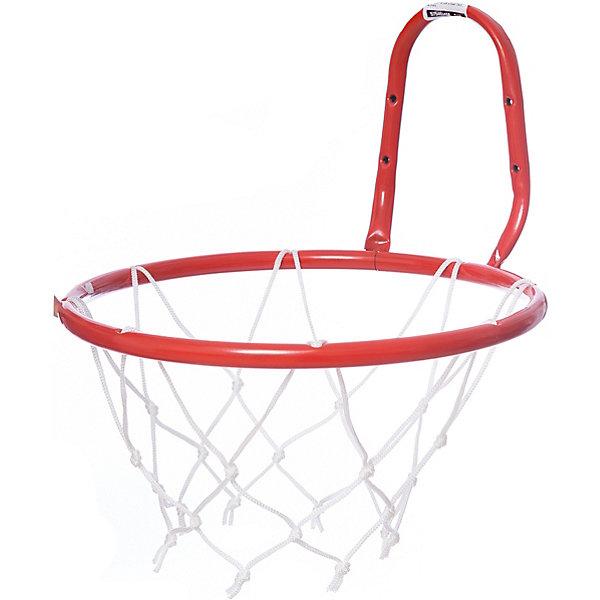 Кольцо баскетбольное №5, с сеткойИгровые наборы<br>Основные характеристики<br><br>Размер: №5<br>Диаметр (внутренний) кольца: 380мм<br>Материал: сталь<br>Покрытие: порошковое<br>Цвет: красный<br>В комплекте сетка баскетбольная<br>Страна-производитель: Россия<br>Упаковка: без индивидуальной упаковки<br><br>Кольцо баскетбольное предназначено для установки его на баскетбольных щитах (игровых или тренировочных).<br>Ширина мм: 340; Глубина мм: 320; Высота мм: 200; Вес г: 320; Возраст от месяцев: 36; Возраст до месяцев: 192; Пол: Унисекс; Возраст: Детский; SKU: 5056615;