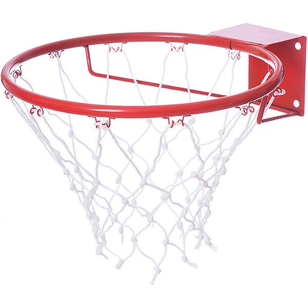 Кольцо баскетбольное №7, с сеткойИгровые наборы<br>Основные характеристики<br><br>Размер: №7 (с упором)<br>Диаметр (внутренний) кольца: 450мм<br>Материал: сталь<br>Покрытие: порошковое<br>Цвет: красный<br>В комплекте сетка баскетбольная<br>Страна-производитель: Россия<br>Упаковка: без индивидуальной упаковки<br><br>Кольцо баскетбольное предназначено для установки его на баскетбольных щитах (игровых или тренировочных).<br>Ширина мм: 450; Глубина мм: 410; Высота мм: 250; Вес г: 436; Возраст от месяцев: 36; Возраст до месяцев: 192; Пол: Унисекс; Возраст: Детский; SKU: 5056616;