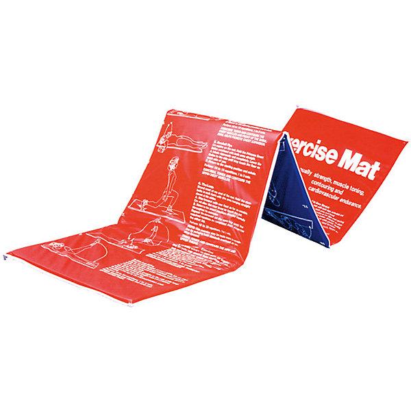 Мат гимнастический RJ0814, Z-SportsМячи детские<br>Основные характеристики<br><br>Материал: верхний слой - полиэстер, полиуретан; наполнитель - поролон<br>Размер: длина - 180см, ширина - 60см, толщина - 2,5см <br>Вес: 600г<br>Цвет: красный/синий<br>Вид применения: для занятий фитнесом, гимнастикой, аэробикой<br>Страна-производитель: Китай<br>Упаковка: полиэтиленовый пакет со стикером<br><br>Изделие изготовлено из современного материала, мягкого, но одновременно достаточно прочного, способного выдержать сильные механические нагрузки. Применяется для занятий йогой, фитнесом и аэробикой как в домашних условиях, так и в спортзалах. На поверхности мата изображен комплекс упражнений. <br>Защитит ваши колени, локти, спину и голову во время занятий на твердой поверхности. Использовать его могут как взрослые так и дети.<br><br>Преимущества мата RJ0814:<br>- складная конструкция, мягкий наполнитель;<br>- оптимальный размер и вес;<br>- изображение примеров упражнений на мате;<br>- приятный современный дизайн и расцветка;<br>- его легко мыть и хранить.<br><br>Ширина мм: 90<br>Глубина мм: 440<br>Высота мм: 580<br>Вес г: 600<br>Возраст от месяцев: 36<br>Возраст до месяцев: 192<br>Пол: Унисекс<br>Возраст: Детский<br>SKU: 5056624