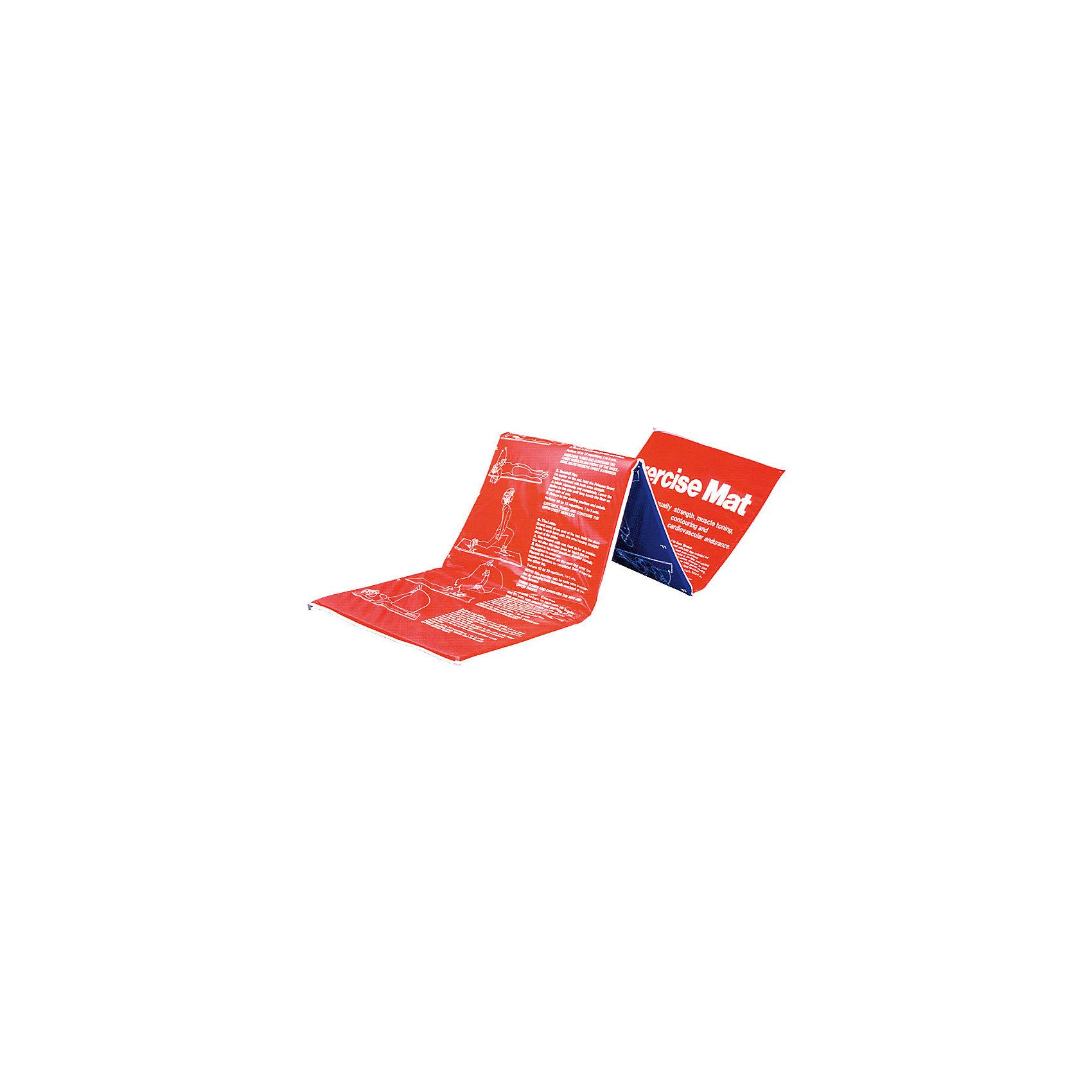 Мат гимнастический RJ0814, Z-SportsСпортивные коврики<br>Основные характеристики<br><br>Материал: верхний слой - полиэстер, полиуретан; наполнитель - поролон<br>Размер: длина - 180см, ширина - 60см, толщина - 2,5см <br>Вес: 600г<br>Цвет: красный/синий<br>Вид применения: для занятий фитнесом, гимнастикой, аэробикой<br>Страна-производитель: Китай<br>Упаковка: полиэтиленовый пакет со стикером<br><br>Изделие изготовлено из современного материала, мягкого, но одновременно достаточно прочного, способного выдержать сильные механические нагрузки. Применяется для занятий йогой, фитнесом и аэробикой как в домашних условиях, так и в спортзалах. На поверхности мата изображен комплекс упражнений. <br>Защитит ваши колени, локти, спину и голову во время занятий на твердой поверхности. Использовать его могут как взрослые так и дети.<br><br>Преимущества мата RJ0814:<br>- складная конструкция, мягкий наполнитель;<br>- оптимальный размер и вес;<br>- изображение примеров упражнений на мате;<br>- приятный современный дизайн и расцветка;<br>- его легко мыть и хранить.<br><br>Ширина мм: 90<br>Глубина мм: 440<br>Высота мм: 580<br>Вес г: 600<br>Возраст от месяцев: 36<br>Возраст до месяцев: 192<br>Пол: Унисекс<br>Возраст: Детский<br>SKU: 5056624