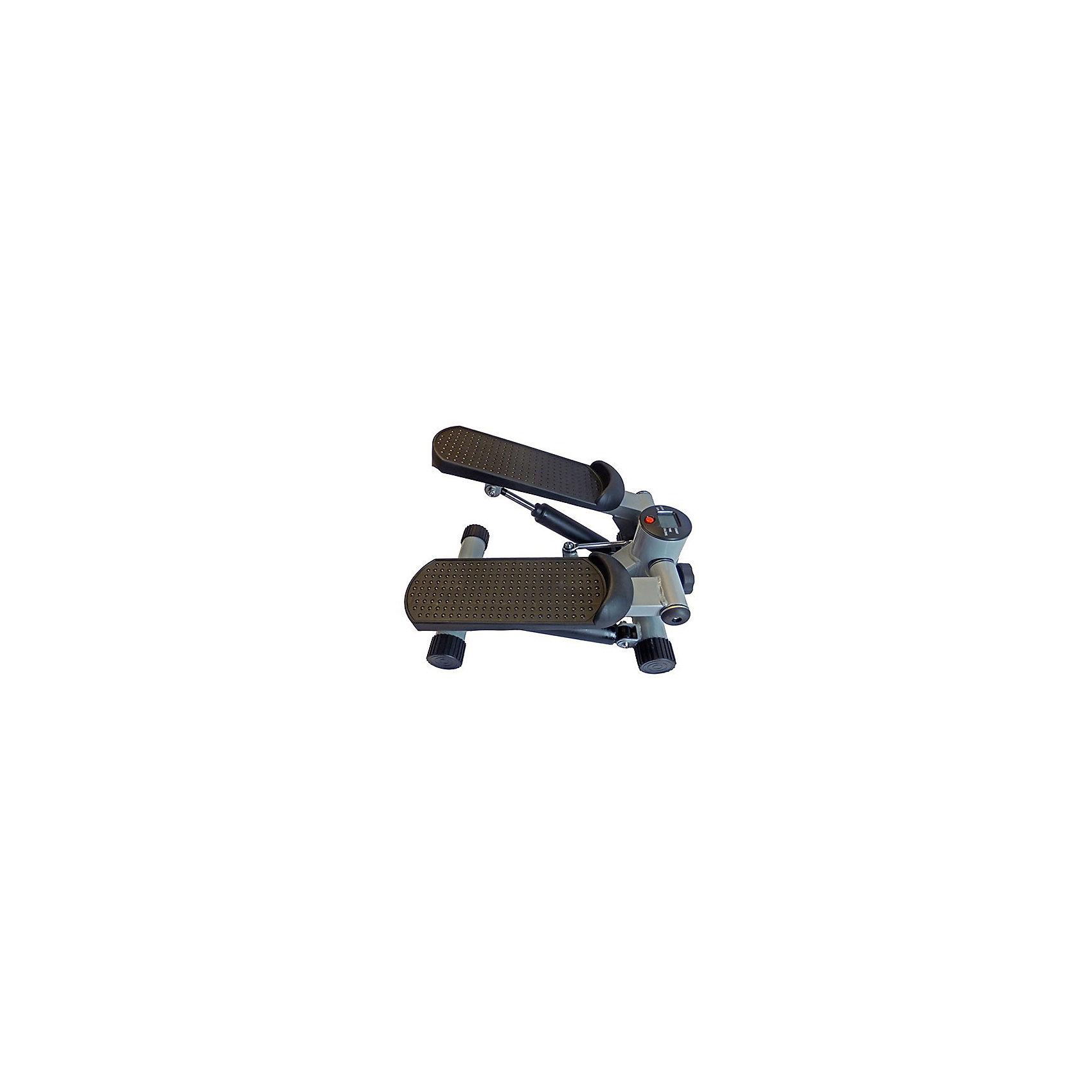 Министеппер GB5105/ 0732-01/SE 5105, Sport ElitТренажёры<br>Министеппер Sport Elit SE 5105 идеальный домашний тренажер, который может использовать любой пользователь вне зависимости от начального уровня физической подготовки. Компактный размер тренажера позволяет использовать и без труда хранить его даже в очень небольшом помещении. Тренировки на этом тренажере позволяют укрепить и развить все основные группы мышц, бороться с лишним весом, поддерживать отличную физическую форму.<br>Министеппер Sport Elit SE 5105 сконструирован таким образом, чтобы сделать тренировки максимально комфортными и эффективными: устойчивая конструкция, широкие педали с нескользящей поверхностью и очень прочная конструкция позволяют использовать тренажер пользователям с весом до 100 кг. Встроенный компьютер сообщает пользователю время тренировки, количество сделанных шагов, количество шагов в минуту, потраченные калории. Возможность следить за каждым параметром тренировки позволяет корректировать тренировочный процесс и добиваться отличных результатов.<br>ИспользованиеДомашнее<br>Максимальный вес пользователя100 кг<br>Рамастальная, лакированная<br>Система нагружениягидравлическая<br>Измерение пульсанет<br>Показания монитора Кол-во шагов за тренировку, общее кол-во шагов, время, калории<br>Питание Не требует подключения к сети<br>Вес тренажера6 кг<br>Габариты тренажера34х20х42 см.<br>Вес тренажера в коробке8 кг<br>Габариты в упаковке24х46х35 см<br>Гарантия18 месяцев<br>ПроизводительSport Elite<br>ИзготовительКитай<br><br>Ширина мм: 350<br>Глубина мм: 240<br>Высота мм: 460<br>Вес г: 8000<br>Возраст от месяцев: 36<br>Возраст до месяцев: 192<br>Пол: Унисекс<br>Возраст: Детский<br>SKU: 5056626