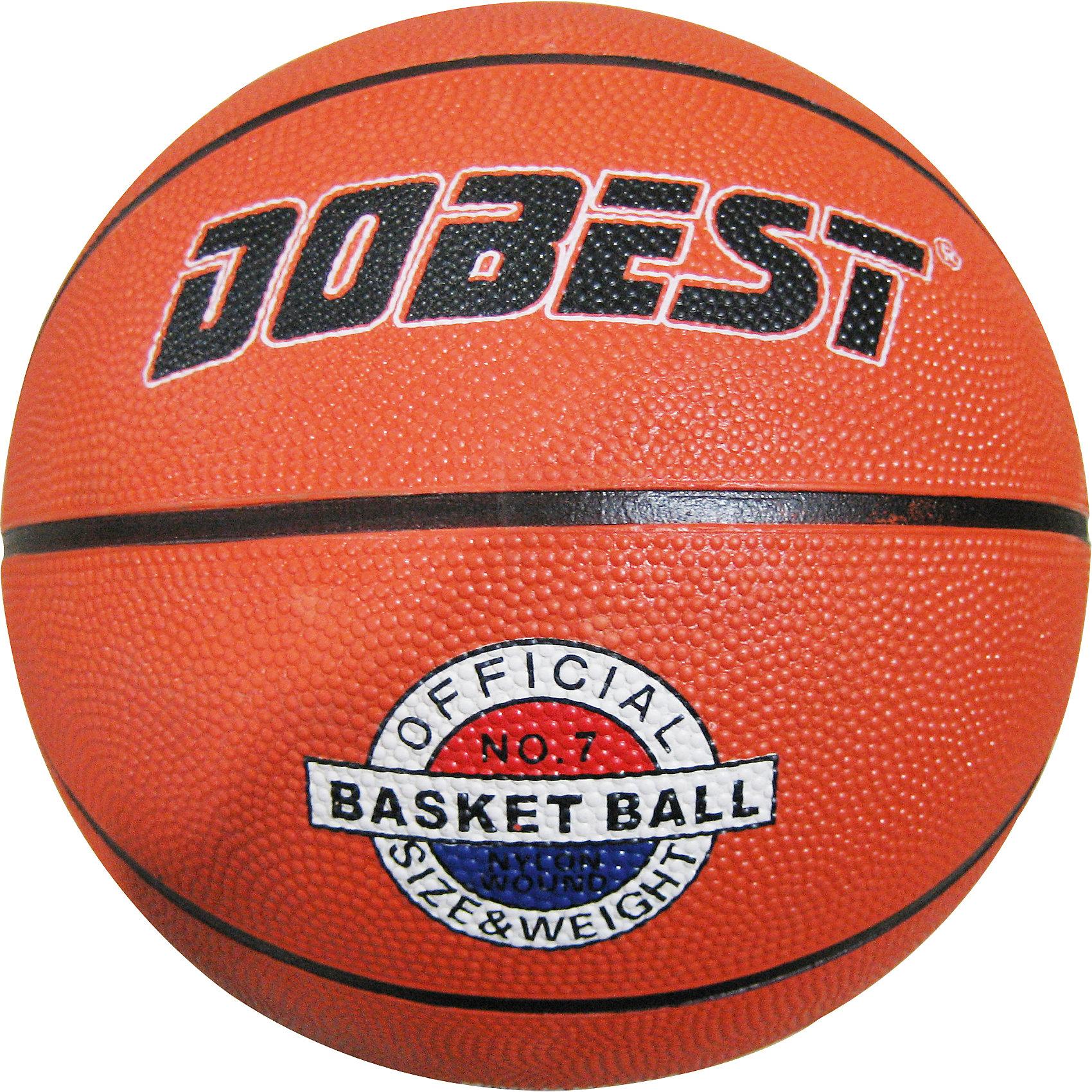 Баскетбольный мяч RB7-0886, р.7 резина, оранж., DobestОсновные характеристики<br><br>Вид: баскетбольный<br>Уровень игры: любительский<br>Размер: 7<br>Количество панелей: 8<br>Количество слоев: 3<br>Вес: 600 гр.<br>Диаметр: 25 см<br>Цвет: оранжевый<br>Материал: резина<br>Мяч подходит для игры на улице и в зале<br>Страна-производитель: Китай <br>Упаковка: пакет (поставляется в сдутом виде)<br><br>Мяч баскетбольный Dobest RB7-0886 прекрасно подойдёт для игры во всеми любимый, остающийся уже долгие годы актуальным, интересным и популярным видом спорта, баскетбол. Ни для кого не секрет, что активные физические нагрузки очень полезны и нужны человеческому организму. А баскетбол, - это, пожалуй, одна из тех игр, в которых активно работают практически все мышцы тела, тренируются лёгкие, выносливость.<br><br>Ширина мм: 280<br>Глубина мм: 280<br>Высота мм: 100<br>Вес г: 600<br>Возраст от месяцев: 36<br>Возраст до месяцев: 192<br>Пол: Унисекс<br>Возраст: Детский<br>SKU: 5056629