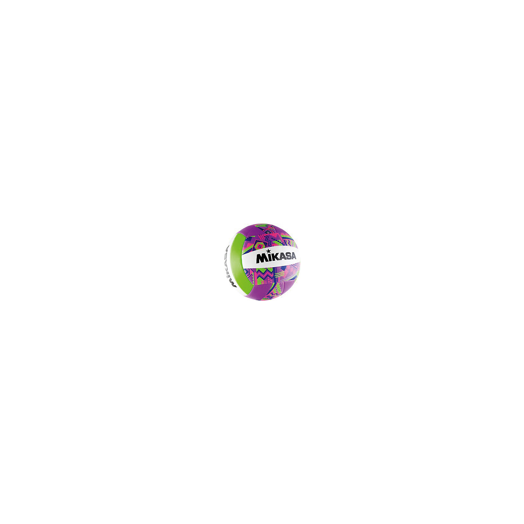 Волейбольный мяч, р. 5, синт. кожа, MIKASAОсновные характеристики<br><br>Вид: волейбольный<br>Уровень игры: любительский<br>Размер: 5<br>Количество панелей: 18<br>Вес: 270гр<br>Окружность: 65-67см<br>Тип соединения панелей: машинная сшивка<br>Материал камеры: бутиловая<br>Материал покрышки: синтетическая кожа (полиуретан)<br>Цвет основной: фиолетовый<br>Цвет дополнительный: белый, розовый, салатовый<br>Страна-производитель: Китай <br>Упаковка: пакет (поставляется в сдутом виде)<br><br>Ширина мм: 213<br>Глубина мм: 213<br>Высота мм: 75<br>Вес г: 270<br>Возраст от месяцев: 36<br>Возраст до месяцев: 192<br>Пол: Унисекс<br>Возраст: Детский<br>SKU: 5056636
