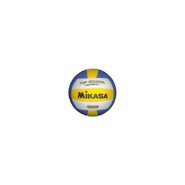 Волейбольный мяч, р. 5, синт кожа, MIKASAМячи детские<br>Основные характеристики<br><br>Вид: волейбольный<br>Уровень игры: любительский<br>Размер: 5<br>Количество панелей: 18<br>Вес: 260-280гр<br>Окружность: 65-67см<br>Тип соединения панелей: клееный<br>Материал камеры: бутиловая<br>Материал покрышки: синтетическая кожа (полиуретан)<br>Подкладочные слои: 1<br>Цвет основной: синий<br>Цвет дополнительный: белый, желтый, черный<br>Подходит для классического и пляжного волейбола.<br>Страна-производитель: Китай <br>Упаковка: пакет (поставляется в сдутом виде)<br><br>Волейбольный тренировочный мяч для начинающих волейболистов и любителей.<br>Изготовлен из очень мягкой синтетической плюшевой кожи ТПЕ (поливинилхлорид с добавлением эластомера).<br>Мяч имеет классический дизайн, лого ВФВ (Всероссийская Федерация Волейбола).<br>Ширина мм: 213; Глубина мм: 213; Высота мм: 75; Вес г: 280; Возраст от месяцев: 36; Возраст до месяцев: 192; Пол: Унисекс; Возраст: Детский; SKU: 5056637;