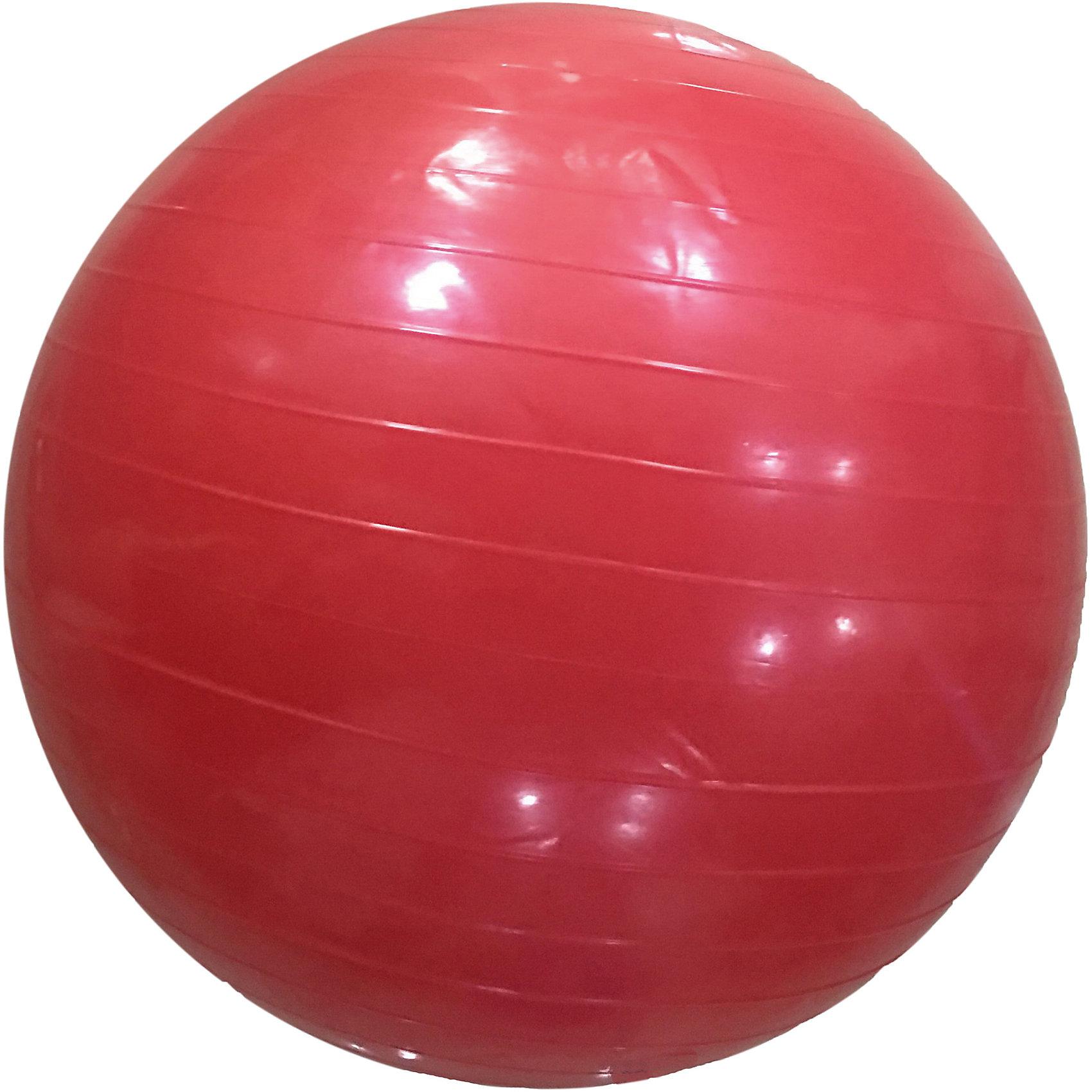 Гимнастический мяч,  диам. 56 см, Z-SportsТренажёры<br>Основные характеристики<br><br>Тип: гимнастический <br>Материал: поливинилхлорид<br>Диаметр: 55см<br>Вес: 0,88кг<br>Цвет: коралловый<br>Максимальный вес пользователя: 60кг<br>Страна-производитель: Китай<br>Упаковка: индивидуальная цветная коробка<br><br>Является универсальным тренажером для всех групп мышц, помогает развить гибкость, исправить осанку, снимает чувство усталости в спине.<br>Незаменим на занятиях фитнесом и физкультурой. Главная функция мяча — снять нагрузку с позвоночника и разгрузить суставы. Именно упражнения с применением гимнастических мячей способны тренировать спину и улучшать осанку, бороться с искривлениями позвоночника, в особенности у детей и подростков. Гимнастические мячи могут использоваться также при массаже новорожденных. <br>Поставляется в сдутом виде.<br><br>Преимущества мяча ВВ-001РК-22:<br>- способствует развитию и укреплению мышц спины, пресса, ног и рук;<br>- используются при занятиях гимнастикой, аэробикой, фитнесом;<br>- способствуют восстановлению мышечных функций и улучшению здоровья в целом.<br><br>Ширина мм: 90<br>Глубина мм: 210<br>Высота мм: 260<br>Вес г: 875<br>Возраст от месяцев: 36<br>Возраст до месяцев: 192<br>Пол: Унисекс<br>Возраст: Детский<br>SKU: 5056641