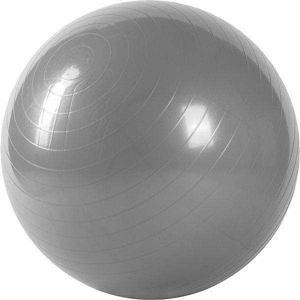 Гимнастический мяч, диам. 65 см, Z-SportsФитболы<br>Основные характеристики<br><br>Тип: гимнастический <br>Материал: поливинилхлорид<br>Диаметр: 65см<br>Вес: 0,99кг<br>Цвет: серый<br>Максимальный вес пользователя: 70кг<br>Страна-производитель: Китай<br>Упаковка: индивидуальная цветная коробка<br><br>Является универсальным тренажером для всех групп мышц, помогает развить гибкость, исправить осанку, снимает чувство усталости в спине.<br>Незаменим на занятиях фитнесом и физкультурой. Главная функция мяча — снять нагрузку с позвоночника и разгрузить суставы. Именно упражнения с применением гимнастических мячей способны тренировать спину и улучшать осанку, бороться с искривлениями позвоночника, в особенности у детей и подростков. Гимнастические мячи могут использоваться также при массаже новорожденных. <br>Поставляется в сдутом виде.<br><br>Преимущества мяча ВВ-001РP-26:<br>- способствует развитию и укреплению мышц спины, пресса, ног и рук;<br>- используются при занятиях гимнастикой, аэробикой, фитнесом;<br>- способствуют восстановлению мышечных функций и улучшению здоровья в целом.<br>Ширина мм: 180; Глубина мм: 80; Высота мм: 200; Вес г: 990; Возраст от месяцев: 36; Возраст до месяцев: 192; Пол: Унисекс; Возраст: Детский; SKU: 5056642;