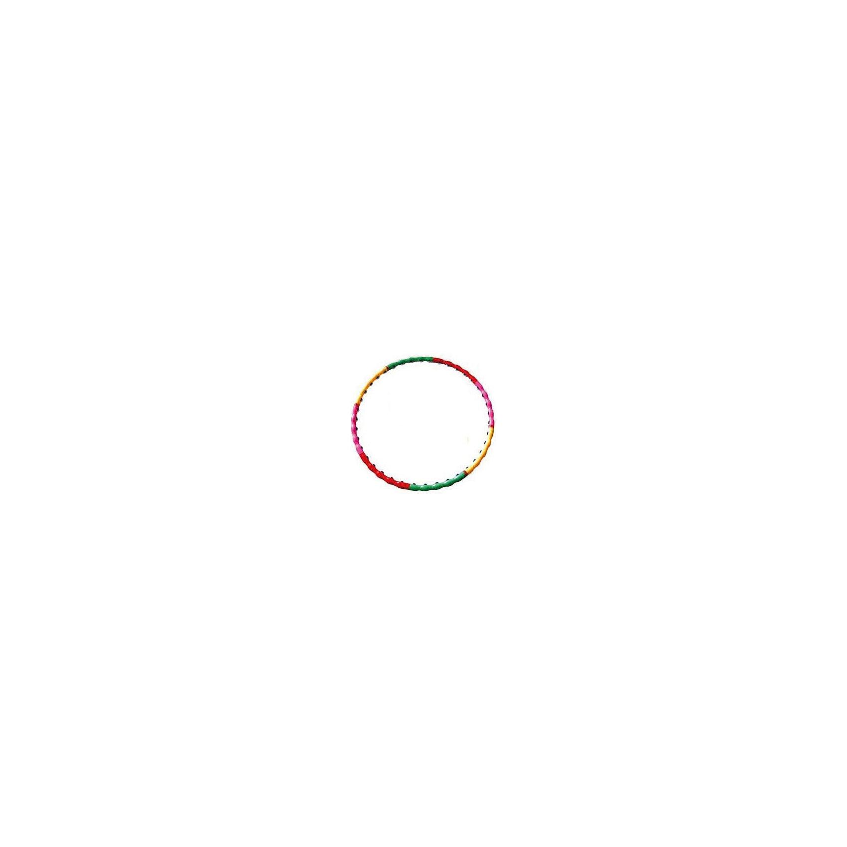 Обруч массажный разборный 45 BD, Z-SportsМассажеры<br>Основные характеристики<br><br>Тип: разборный, массажный<br>Диаметр: 105см<br>Материал: полипропилен<br>Количество сегментов: 8шт.<br>Вес: 0.8кг<br>Цвет: розовый/желтый<br>Страна-производитель: Китай<br>Упаковка: индивидуальная цветная коробка<br><br>Обруч применяется для коррекции фигуры в области талии, тренировки брюшных мышц, улучшения работы дыхательной и сердечно-сосудистой систем, повышая общий тонус организма. Развивает координацию движений, гибкость, укрепляет вестибулярный аппарат, мышцы рук, плеч, спины и ног. Нормализует работу кишечника. Имеет массажную поверхность, что дополнительно стимулирует проблемные зоны при тренировках. <br><br>Преимущества обруча 45BD:<br>- наличие внутренней массажной поверхности, обеспечивающей массаж в области талии и, тем самым, способствующей скорейшему сжиганию лишних килограмов;<br>- простой механизм сборки/разборки обруча и удобство в хранении.<br><br>Ширина мм: 90<br>Глубина мм: 440<br>Высота мм: 240<br>Вес г: 1650<br>Возраст от месяцев: 36<br>Возраст до месяцев: 192<br>Пол: Унисекс<br>Возраст: Детский<br>SKU: 5056655