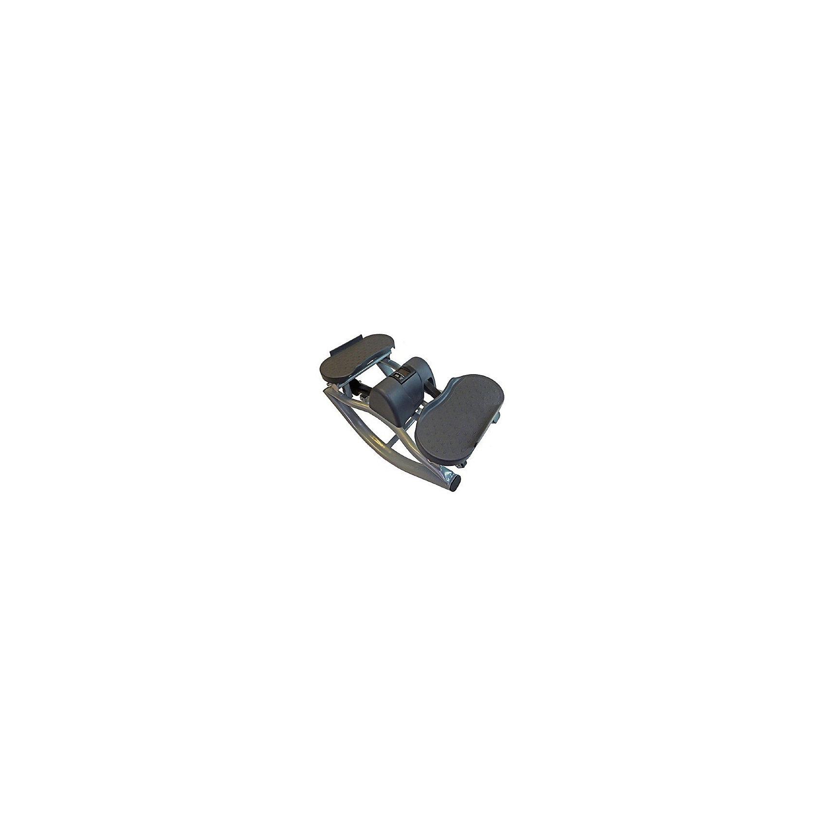 Балансировочный степпер, Sport ElitТренажёры<br>Министеппер Sport Elit SE 5106 отлично подойдет для тех, кто хочет самостоятельно в домашних условиях поддерживать свою физическую форму в очень хорошем состоянии. Занимаясь на этом тренажере, любой пользователь в независимости от начального уровня физической подготовки сможет тренировать очень многие группы мышц: бедра, ягодицы, бицепс, трицепс, плечи, спина, пресс.<br>Для тренировок не требуется специальных знаний, министеппер  Sport Elit SE 5106 очень прост в использовании, а комплексов упражнений для него существует огромное множество. Каждый пользователь сможет с легкостью подобрать упражнения именно для тех групп мышц, которые нуждаются в тренировке. Небольшой встроенный компьютер сообщит пользователю основные параметры тренировки: число сделанных шагов, время, количество калорий, потраченных за время тренировки, количество шагов за минуту. Показания компьютера позволят следить за интенсивностью тренировки и корректировать тренировочный процесс.<br>ИспользованиеДомашнее<br>Максимальный вес пользователя100 кг<br>Рамастальная, лакированная<br>Система нагружениягидравлическая<br>Измерение пульсанет<br>Показания монитора кол-во шагов, время, потраченные калории, кол-во шаг/мин<br>Питание Не требует подключения к сети<br>Вес тренажера11,2 кг <br>Габариты тренажера51х27х27 см<br>Вес тренажера в коробке12,5 кг<br>Габариты в упаковке29х51х40 см<br>Гарантия18 месяцев<br>ПроизводительSport Elite<br>ИзготовительКитай<br><br>Ширина мм: 400<br>Глубина мм: 510<br>Высота мм: 290<br>Вес г: 6500<br>Возраст от месяцев: 36<br>Возраст до месяцев: 192<br>Пол: Унисекс<br>Возраст: Детский<br>SKU: 5056658