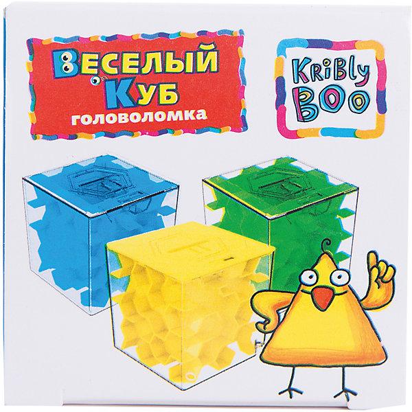 Головоломка Веселый куб, Kribly BooГоловоломки - лабиринты<br>отдельный предмет<br>Ширина мм: 70; Глубина мм: 70; Высота мм: 70; Вес г: 22; Возраст от месяцев: 60; Возраст до месяцев: 120; Пол: Унисекс; Возраст: Детский; SKU: 5059056;