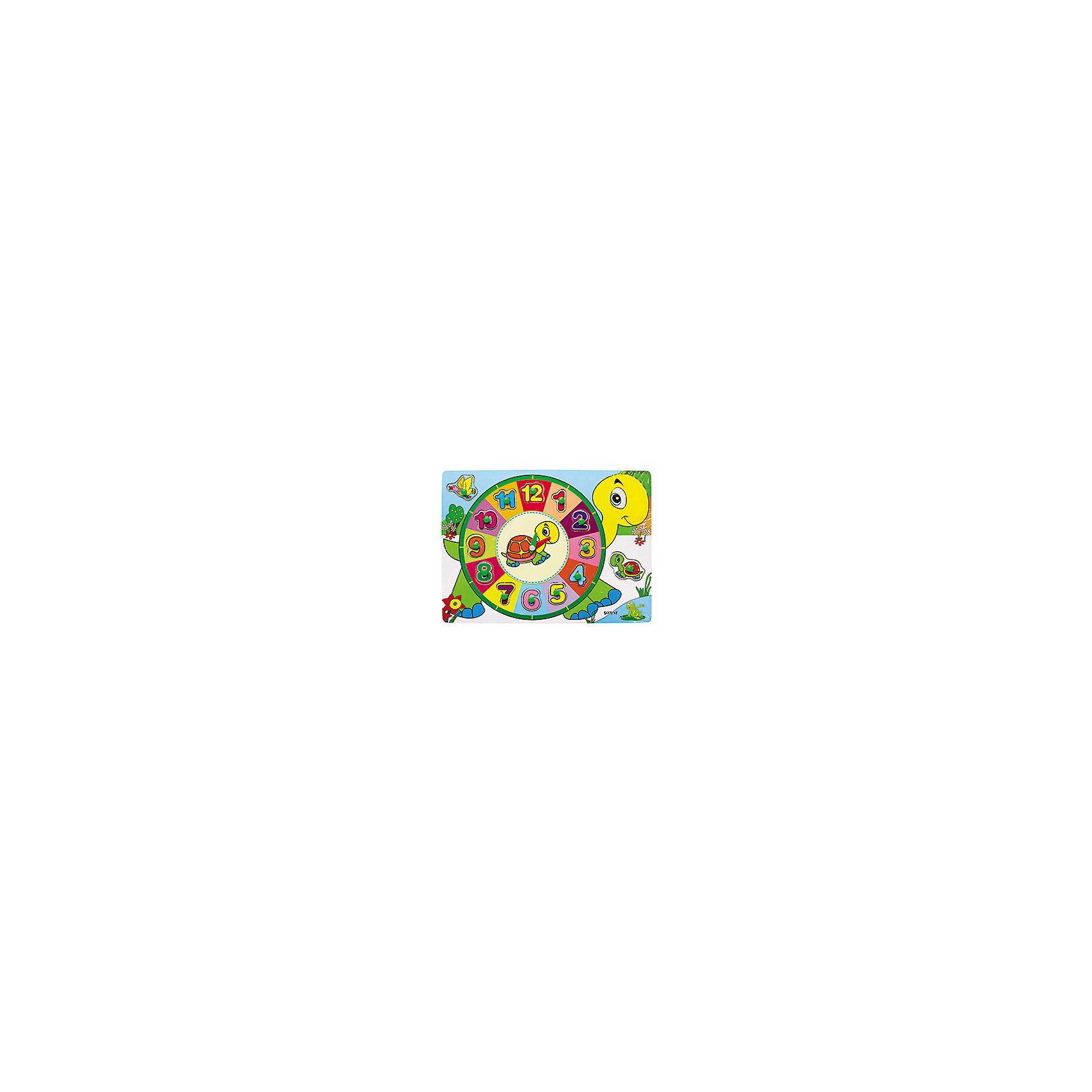 Деревянный пазл Черепашка с часами, 12 элементов, Kribly BooДеревянный пазл Черепашка с часами, 12 элементов, Kribly Boo<br><br>Характеристики:<br><br>• Материал: дерево, бумага<br>• Возраст: от 3 лет<br>• Деталей: 12 штук<br><br>Деревянный пазл помогает малышу развить внимательность, пространственное мышление, моторику рук и координацию движений. И все это без скучных упражнений, с помощью игры. Данный пазл познакомит ребенка со временем и научит в нем ориентироваться. Пазл сделан из экологически чистого материала – дерева. Все детали хорошо обработаны и не оставляют заноз.<br><br>Деревянный пазл Черепашка с часами, 12 элементов, Kribly Boo можно купить в нашем интернет-магазине.<br><br>Ширина мм: 300<br>Глубина мм: 10<br>Высота мм: 230<br>Вес г: 0<br>Возраст от месяцев: 60<br>Возраст до месяцев: 120<br>Пол: Унисекс<br>Возраст: Детский<br>SKU: 5059067