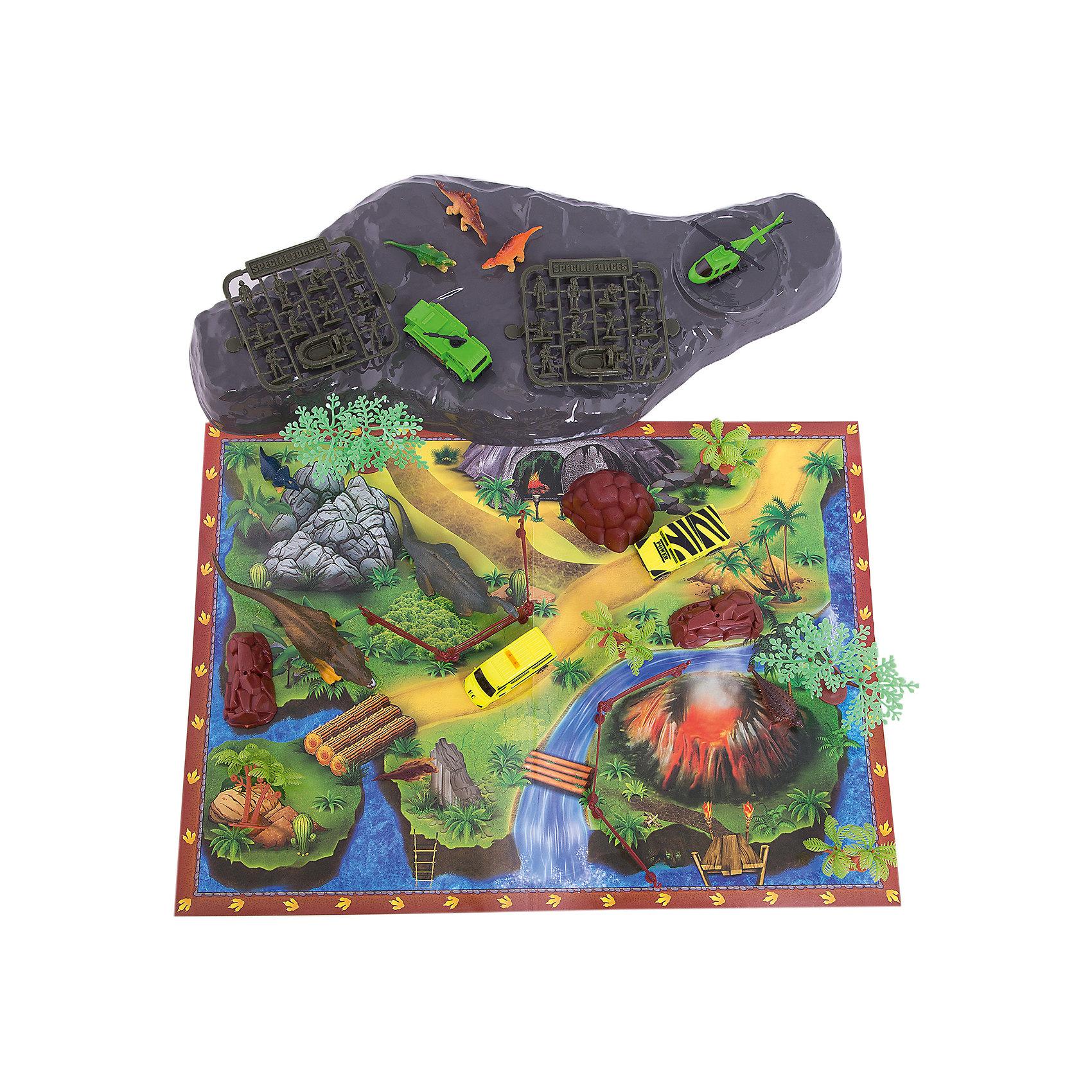 Игровой конструктор Парк динозавров, Kribly Boo51 элемент<br><br>Ширина мм: 230<br>Глубина мм: 10<br>Высота мм: 180<br>Вес г: 21<br>Возраст от месяцев: 60<br>Возраст до месяцев: 120<br>Пол: Унисекс<br>Возраст: Детский<br>SKU: 5059069