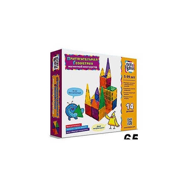 Магнитный конструктор Притягательная геометрия,14 деталей, Kribly BooМагнитные конструкторы<br>Магнитный конструктор Притягательная геометрия, 14 деталей, Kribly Boo (Крибли Бу)<br><br>Характеристики:<br><br>• яркие детали<br>• количество деталей: 14<br>• материал: пластик, магнит<br>• размер упаковки: 22х18х5 см<br>• вес: 150 грамм<br><br>С помощью конструктора Притягательная геометрия ребенок сможет построить любые сооружения, замки или транспортные средства. Каждая деталь имеет геометрическую форму и магнит. Таким образом, ребенок познакомится с геометрическими фигурами и узнает многое о магнитном притяжении. Развивающий конструктор станет прекрасным подарком для любознательных малышей!<br><br>Магнитный конструктор Притягательная геометрия,14 деталей, Kribly Boo (Крибли Бу) вы можете купить в нашем интернет-магазине.<br>Ширина мм: 180; Глубина мм: 50; Высота мм: 220; Вес г: 15; Возраст от месяцев: 60; Возраст до месяцев: 120; Пол: Унисекс; Возраст: Детский; SKU: 5059076;