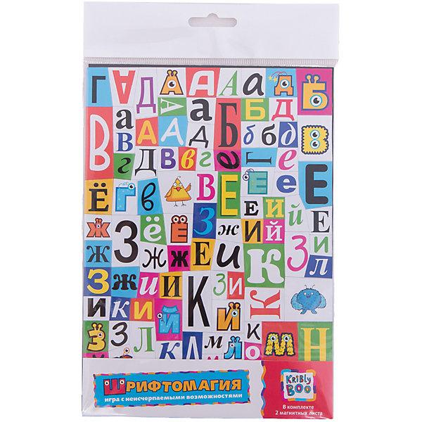 Обучающие магнитные пазлы Шрифтомагия, Kribly BooИнтерактивные игрушки для малышей<br>Обучающие магнитные пазлы Шрифтомагия, Kribly Boo (Крибли Бу). <br><br>Характеристика:<br><br>• Материал: пластик. <br>• Размер упаковки: 27,6x32,6x5 см. <br>• Комплектация: 78 деталей, инструкция. <br>• Яркий привлекательный дизайн. <br>• Развивает моторику рук, внимание, усидчивость и воображение. <br><br>Шрифтомагия от Kribly Boo - это целых 4 увлекательных развивающих игры. С помощью этого набора ребенок без труда сможет выучить буквы, запомнить, как они пишутся, сформировать навыки чтения и письма, а также развить внимание, мышление и воображение. Очаровательные монстрики-помощники Крибли, Трумли и Боб сделают игры еще интереснее и увлекательнее. Все детали набора изготовлены из экологичных прочных материалов безопасных для детей.<br><br>Обучающие магнитные пазлы Шрифтомагия, Kribly Boo (Крибли Бу), можно купить в нашем интернет-магазине.<br>Ширина мм: 300; Глубина мм: 10; Высота мм: 230; Вес г: 14; Возраст от месяцев: 60; Возраст до месяцев: 120; Пол: Унисекс; Возраст: Детский; SKU: 5059078;