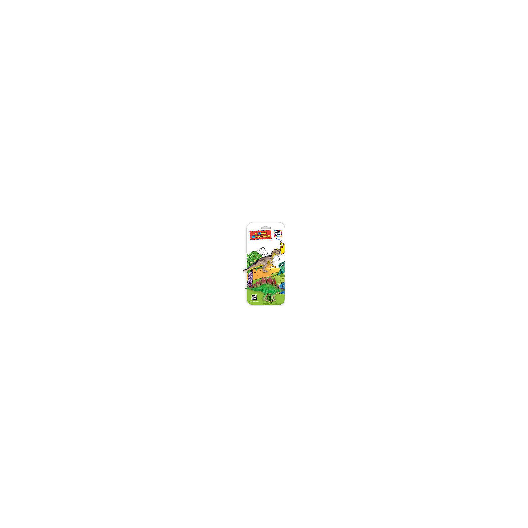 Фигурки зверей В Мире Животных, Аллозавр и Стегозавра, Kribly BooРазвивающие игрушки<br>Фигурки зверей В Мире Животных, Аллозавр и Стегозавр, Kribly Boo (Крибли Бу). <br><br>Характеристика:<br><br>• Материал: пластик. <br>• Размер упаковки: 26х12х3 см. <br>• 2 фигурки в наборе. <br>• Фигурки хорошо детализированы и реалистично раскрашены. <br><br>Собери свою коллекцию животных вместе с Kribly Boo. В наборе представлены фигурки аллозавра и стегозавра. Придумывай увлекательные истории из жизни динозавров, узнай, где они обитали и чем питались. Игрушки прекрасно детализированы и реалистично раскрашены, изготовлены из высококачественных материалов безопасных для детей. <br><br>Фигурки зверей В Мире Животных, Аллозавра и Стегозавра, Kribly Boo (Крибли Бу), можно купить в нашем магазине.<br><br>Ширина мм: 260<br>Глубина мм: 30<br>Высота мм: 120<br>Вес г: 20<br>Возраст от месяцев: 60<br>Возраст до месяцев: 120<br>Пол: Унисекс<br>Возраст: Детский<br>SKU: 5059087