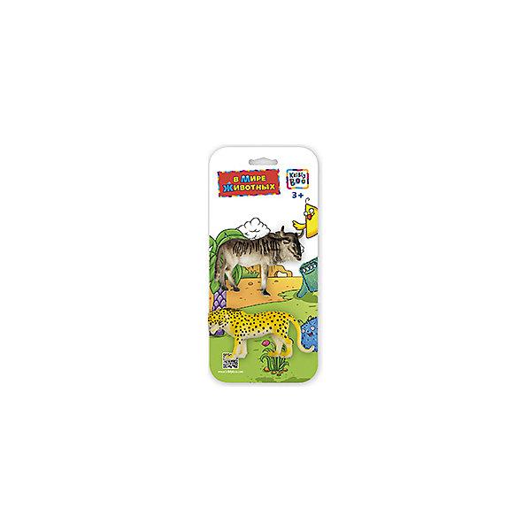 Фигурки зверей В Мире Животных, Антилопа Гну и Гепард, Kribly BooМир животных<br>Фигурки зверей В Мире Животных, Антилопа Гну и Гепард, Kribly Boo (Крибли Бу). <br><br>Характеристика:<br><br>• Материал: пластик. <br>• Размер упаковки: 26х12х3 см. <br>• 2 фигурки в наборе. <br>• Фигурки хорошо детализированы и реалистично раскрашены. <br><br>Собери свою коллекцию животных вместе с Kribly Boo. В наборе представлены фигурки антилопы гну и гепарда. Придумывай увлекательные истории из жизни зверей, узнай, где они обитают и чем питаются. Игрушки прекрасно детализированы и реалистично раскрашены, изготовлены из высококачественных материалов безопасных для детей. <br><br>Фигурки зверей В Мире Животных, Антилопу Гну и Гепарда, Kribly Boo (Крибли Бу), можно купить в нашем магазине.<br><br>Ширина мм: 260<br>Глубина мм: 30<br>Высота мм: 120<br>Вес г: 22<br>Возраст от месяцев: 60<br>Возраст до месяцев: 120<br>Пол: Унисекс<br>Возраст: Детский<br>SKU: 5059088