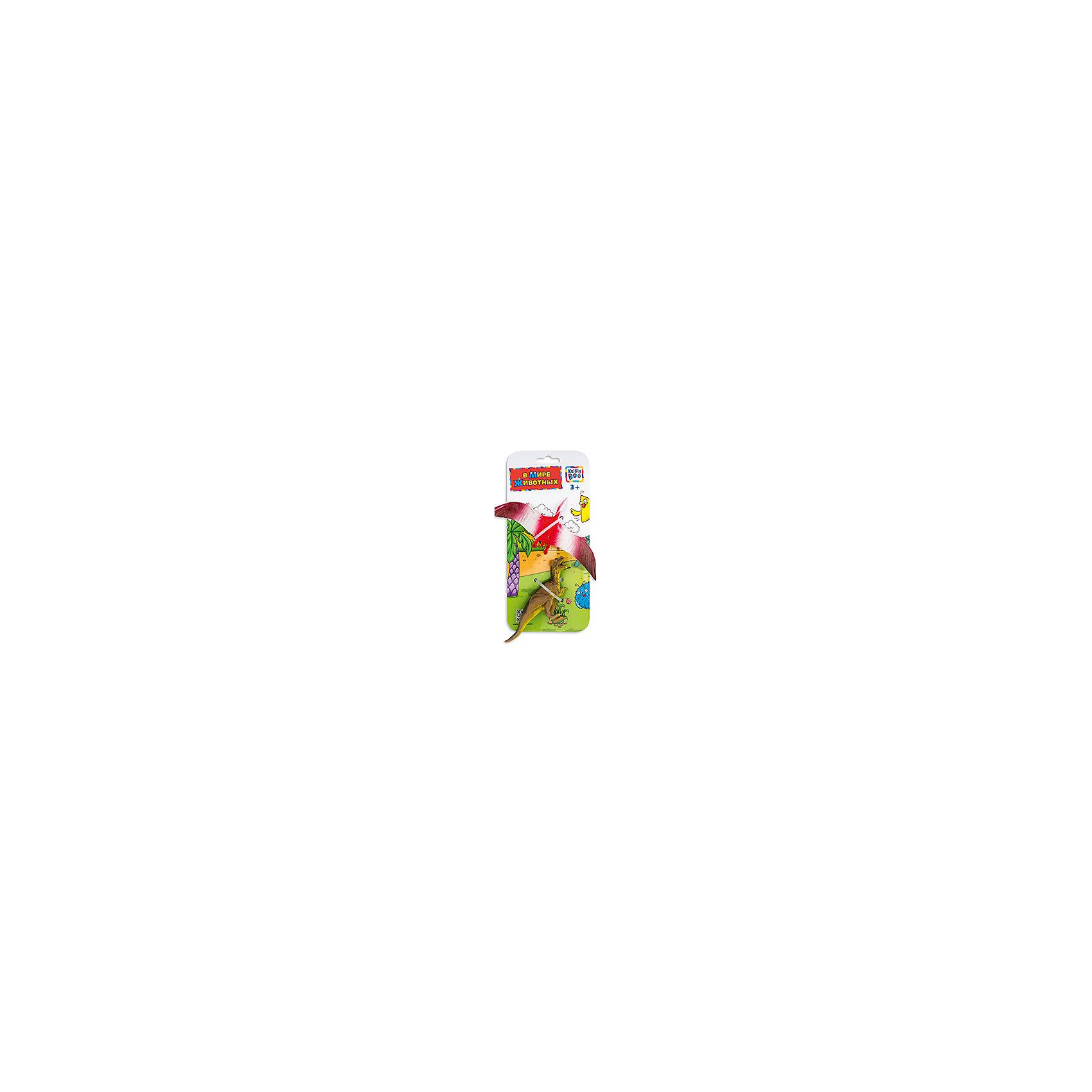 Фигурки зверей В Мире Животных, Птерозавр и Тиранозавра, Kribly BooМир животных<br>Фигурки зверей В Мире Животных, Птерозавр и Тиранозавр, Kribly Boo (Крибли Бу). <br><br>Характеристика:<br><br>• Материал: пластик. <br>• Размер упаковки: 26х12х3 см. <br>• 2 фигурки в наборе. <br>• Фигурки хорошо детализированы и реалистично раскрашены. <br><br>Собери свою коллекцию животных вместе с Kribly Boo. В наборе представлены фигурки птерозавра и тиранозавра. Придумывай увлекательные истории из жизни динозавров, узнай, где они обитали и чем питались. Игрушки прекрасно детализированы и реалистично раскрашены, изготовлены из высококачественных материалов безопасных для детей. <br><br>Фигурки зверей В Мире Животных, Птерозавра и Тиранозавра, Kribly Boo (Крибли Бу), можно купить в нашем магазине.<br><br>Ширина мм: 260<br>Глубина мм: 30<br>Высота мм: 120<br>Вес г: 20<br>Возраст от месяцев: 60<br>Возраст до месяцев: 120<br>Пол: Унисекс<br>Возраст: Детский<br>SKU: 5059090