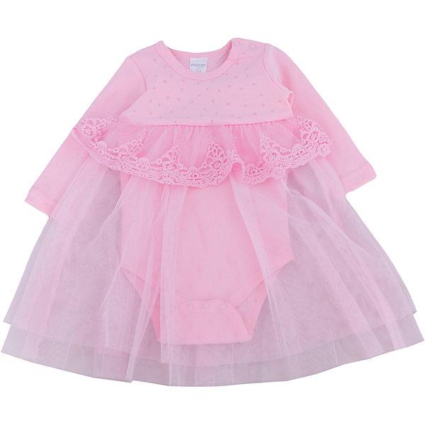 Нарядное боди-платье для девочки PlayTodayПлатья<br>Характеристики:<br><br>• Вид одежды: платье-боди<br>• Предназначение: праздничное платье<br>• Сезон: круглый год<br>• Материал: боди – 100% хлопок, юбка – 100% полиэстер<br>• Цвет: розовый<br>• Силуэт: расклешенная юбка<br>• Длина платья: миди<br>• Рукав: длинный<br>• Вырез горловины: круглый<br>• Застежка: кнопки на плече и снизу<br>• Особенности ухода: ручная стирка без применения отбеливающих средств, глажение при низкой температуре <br><br>PlayToday – это линейка детской одежды, которая предназначена как для повседневности, так и для праздников. Большинство моделей выполнены в классическом стиле, сочетающем в себе традиции с яркими стильными элементами и аксессуарами. Весь ассортимент одежды сочетается между собой по стилю и цветовому решению, поэтому Вам будет легко сформировать гардероб вашего ребенка, который отражает его индивидуальность. <br>Яркое платье для девочки PlayToday выполнено по типу боди с длинными рукавами. Нижняя часть состоит из 100% хлопка, юбка – из полиэстера розового цвета. У платья круглая горловина, длинный рукав. Юбка многослойная: нижняя более длинная и короткая из кружева, которым декорирована завышенная талия. Верхняя часть платья декорирована жемчужными стразами. Платье-боди легко надевать и снимать, на плече и снизу предусмотрены застежки-кнопки. Платье для девочки PlayToday – это стиль, качество и элегантность!<br><br>Платье для девочки PlayToday можно купить в нашем интернет-магазине.<br><br>Ширина мм: 236<br>Глубина мм: 16<br>Высота мм: 184<br>Вес г: 177<br>Цвет: розовый<br>Возраст от месяцев: 18<br>Возраст до месяцев: 24<br>Пол: Женский<br>Возраст: Детский<br>Размер: 92,86,68,74,62,80<br>SKU: 5059390