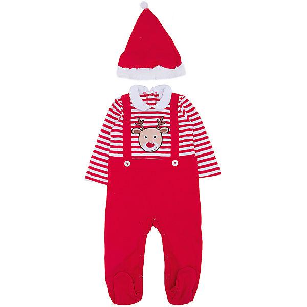 Карнавальный костюм Рождественский эльф PlayTodayКарнавальные костюмы для девочек<br>Характеристики:<br><br>• Вид одежды: боди<br>• Предназначение: карнавальный костюм, праздничная одежда<br>• Сезон: новогодние праздники<br>• Материал: хлопок – 100%<br>• Цвет: белый, красный<br>• Рукав: длинный<br>• Вырез горловины: круглый, отложной воротничок<br>• Застежка: кнопки на спинке и внизу<br>• Колпак в комплекте<br>• Особенности ухода: ручная стирка без применения отбеливающих средств, глажение при низкой температуре <br><br>PlayToday – это линейка детской одежды, которая предназначена как для повседневности, так и для праздников. Большинство моделей выполнены в классическом стиле, сочетающем в себе традиции с яркими стильными элементами и аксессуарами. Весь ассортимент одежды сочетается между собой по стилю и цветовому решению, поэтому Вам будет легко сформировать гардероб вашего ребенка, который отражает его индивидуальность. <br>Карнавальный костюм PlayToday – яркий, стильный и оригинальный наряд по типу боди для новогодних праздников. Боди с выполнено из 100% хлопка. У боди стильный дизайн – полосатый верх, на груди имеется имитация подтяжек и яркая наклейка в виде оленя, штанишки – однотонные. Боди удобно надевать и снимать: все застежки имеют кнопки. Для законченности образа предусмотрена шапка-колпак. <br><br>Карнавальный костюм PlayToday можно купить в нашем интернет-магазине.<br>Ширина мм: 157; Глубина мм: 13; Высота мм: 119; Вес г: 200; Цвет: красный; Возраст от месяцев: 2; Возраст до месяцев: 5; Пол: Мужской; Возраст: Детский; Размер: 62,68,74; SKU: 5059451;