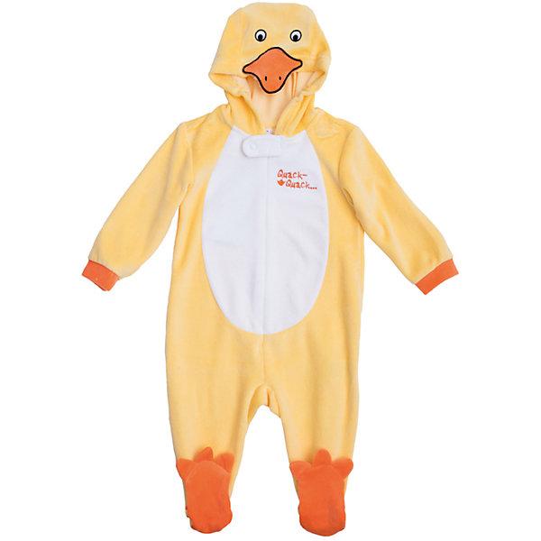 Комбинезон для мальчика PlayTodayКарнавальные костюмы для девочек<br>Характеристики:<br><br>• Вид одежды: комбинезон<br>• Предназначение: карнавальный костюм, повседневная одежда<br>• Пол: для мальчика<br>• Сезон: всесезонный<br>• Материал: хлопок – 80%, полиэстер – 20%<br>• Цвет: желтый, белый, оранжевый<br>• Рукав: длинный<br>• Вырез горловины: круглый<br>• Застежка: молния спереди<br>• Наличие капюшона<br>• Особенности ухода: ручная стирка без применения отбеливающих средств, глажение при низкой температуре <br><br>PlayToday – это линейка детской одежды, которая предназначена как для повседневности, так и для праздников. Большинство моделей выполнены в классическом стиле, сочетающем в себе традиции с яркими стильными элементами и аксессуарами. Весь ассортимент одежды сочетается между собой по стилю и цветовому решению, поэтому Вам будет легко сформировать гардероб вашего ребенка, который отражает его индивидуальность. <br>Комбинезон для мальчика PlayToday – яркий, стильный и оригинальный наряд, который может быть использован не только в качестве теплой одежды, но и в качестве карнавального костюма. Комбинезон выполнен из велюра высокого качества. Стиль комбинезона представляет собой имитацию утенка: ярко-желтые детали сочетаются с белой грудкой, оранжевой резинкой на рукавах и с носочками в форме лапок утенка. Капюшон представляет собой мордочку. Комбинезон удобно надевать и снимать: спереди по всей длине имеется застежка-молния. <br><br>Комбинезон для мальчика PlayToday можно купить в нашем интернет-магазине.<br>Ширина мм: 157; Глубина мм: 13; Высота мм: 119; Вес г: 200; Цвет: желтый; Возраст от месяцев: 2; Возраст до месяцев: 5; Пол: Мужской; Возраст: Детский; Размер: 74,68,62; SKU: 5059461;
