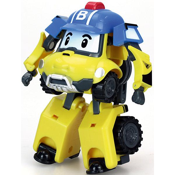 Трансформер Баки, 10 см, Робокар ПолиРобокар Поли<br>Трансформер Баки, 10 см, Робокар Поли.<br><br>Характеристики:<br><br>- Материал: пластик<br>- Размер игрушки: 10 см.<br>- Упаковка: картонная коробка блистерного типа<br>- Размер упаковки: 12,7 x 12,7 x 16,5 см.<br>- Вес: 220 гр.<br><br>Игрушка выполнена в образе одного из славных жителей городка Брумстаун – горноспасателя по имени Баки. Фигурка авто-робота выполнена в мультяшном стиле с весёлыми глазками, все его подвижные детали выполнены в сочетании 2-х цветов: жёлтого и голубого. Авто-робот легко трансформируется в компактный грузовик, с которым можно устроить настоящие гонки. Игрушка выполнена из качественного пластика, все её элементы имеют яркую окраску.<br><br>Трансформера Баки, 10 см, Робокар Поли можно купить в нашем интернет-магазине.<br>Ширина мм: 127; Глубина мм: 127; Высота мм: 165; Вес г: 220; Возраст от месяцев: 36; Возраст до месяцев: 2147483647; Пол: Унисекс; Возраст: Детский; SKU: 5059830;