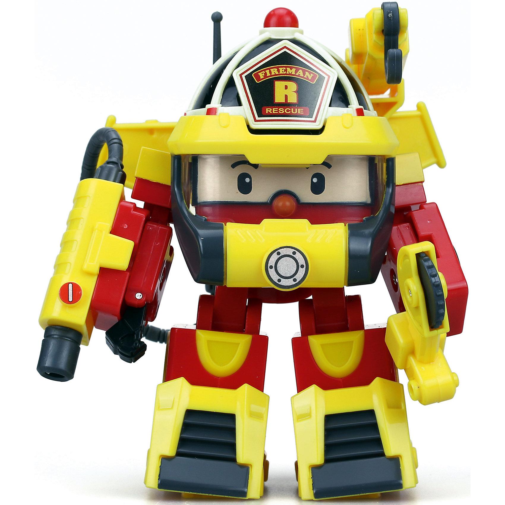 Трансформер и костюм водолаза Рой, 10 см, Робокар ПолиМашинки и транспорт для малышей<br>Трансформер и костюм водолаза Рой, 10 см, Робокар Поли.<br><br>Характеристики:<br><br>- В наборе: игрушка-трансформер, аксессуары костюма водолаза<br>- Материал: пластик<br>- Размер игрушки: 10 см.<br>- Упаковка: картонная коробка блистерного типа<br>- Размер упаковки: 10,8 x 15,2 x 17,2 см.<br>- Вес: 335 гр.<br><br>Теперь у ловкого и отважного пожарного автомобиля Робокара Роя появилось еще больше возможностей помогать людям, ведь у него есть водолазный костюм. Жители необычного городка Брумстауна могут не беспокоиться даже в том случае, если неприятности настигнут их под водой. Наш Рой легко и быстро трансформируется из машинки в робота, наденет на себя костюм и ринется на помощь людям!<br><br>Трансформера и костюм водолаза Рой, 10 см, Робокар Поли можно купить в нашем интернет-магазине.<br><br>Ширина мм: 152<br>Глубина мм: 108<br>Высота мм: 171<br>Вес г: 357<br>Возраст от месяцев: 36<br>Возраст до месяцев: 2147483647<br>Пол: Унисекс<br>Возраст: Детский<br>SKU: 5059832